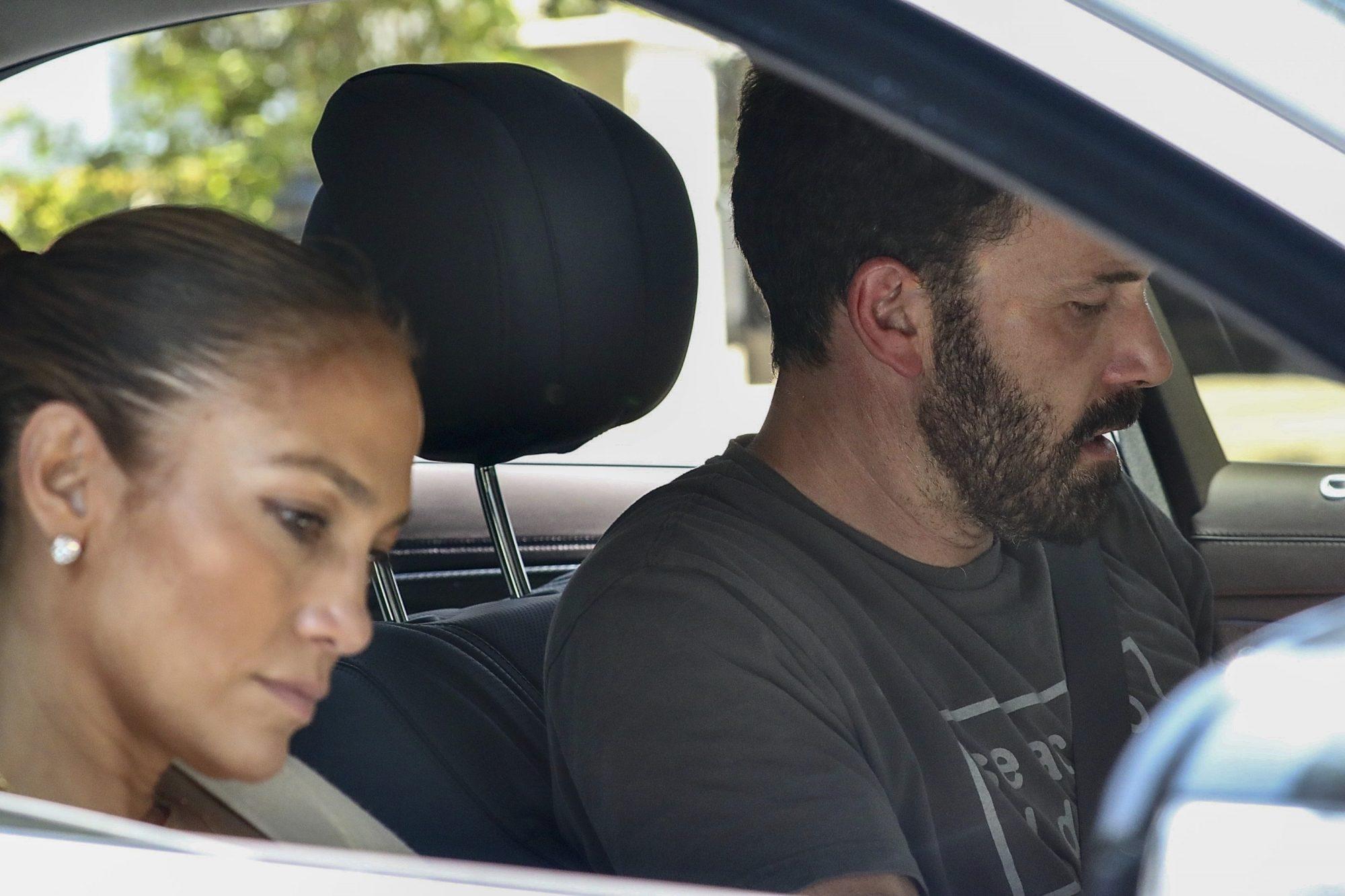PREMIUM EXC Jennifer Lopez, Ben Affleck