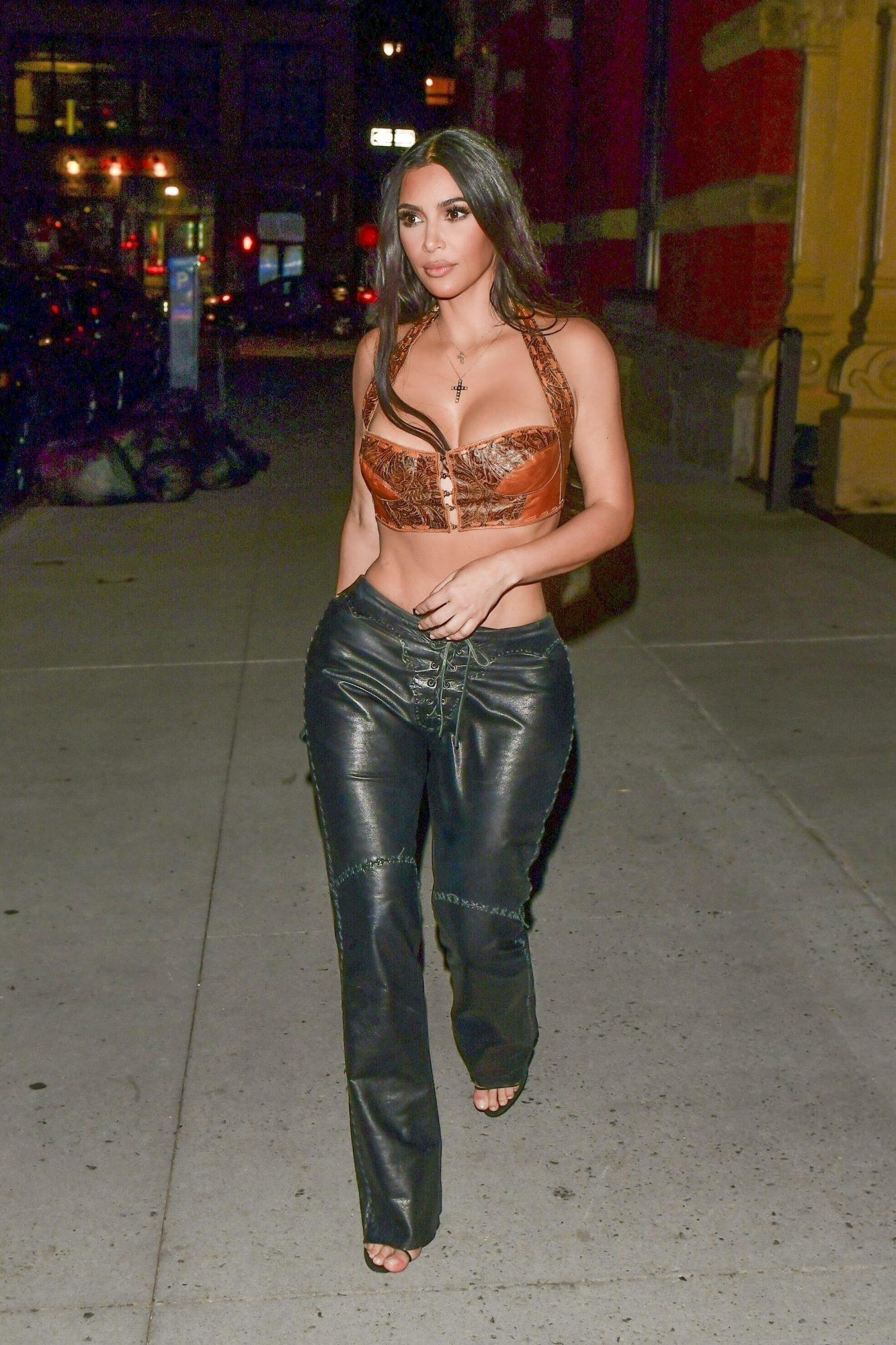 Kim Kardashian, sexy, new york