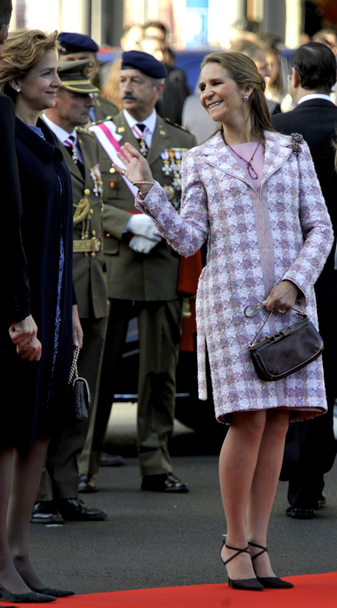 Infanta Cristina e infanta Elena