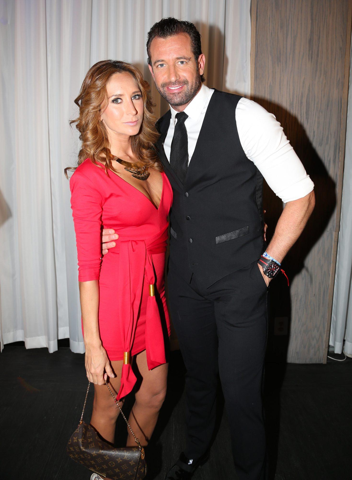 Geraldine Bazán y Gabriel Soto