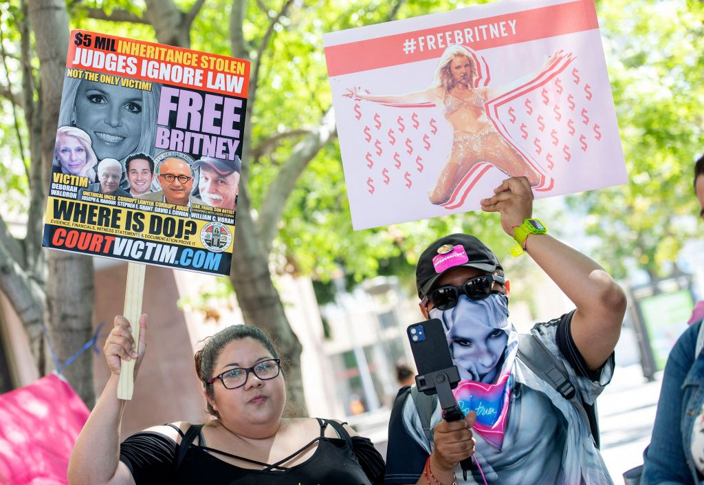 Free Britney protests in LA