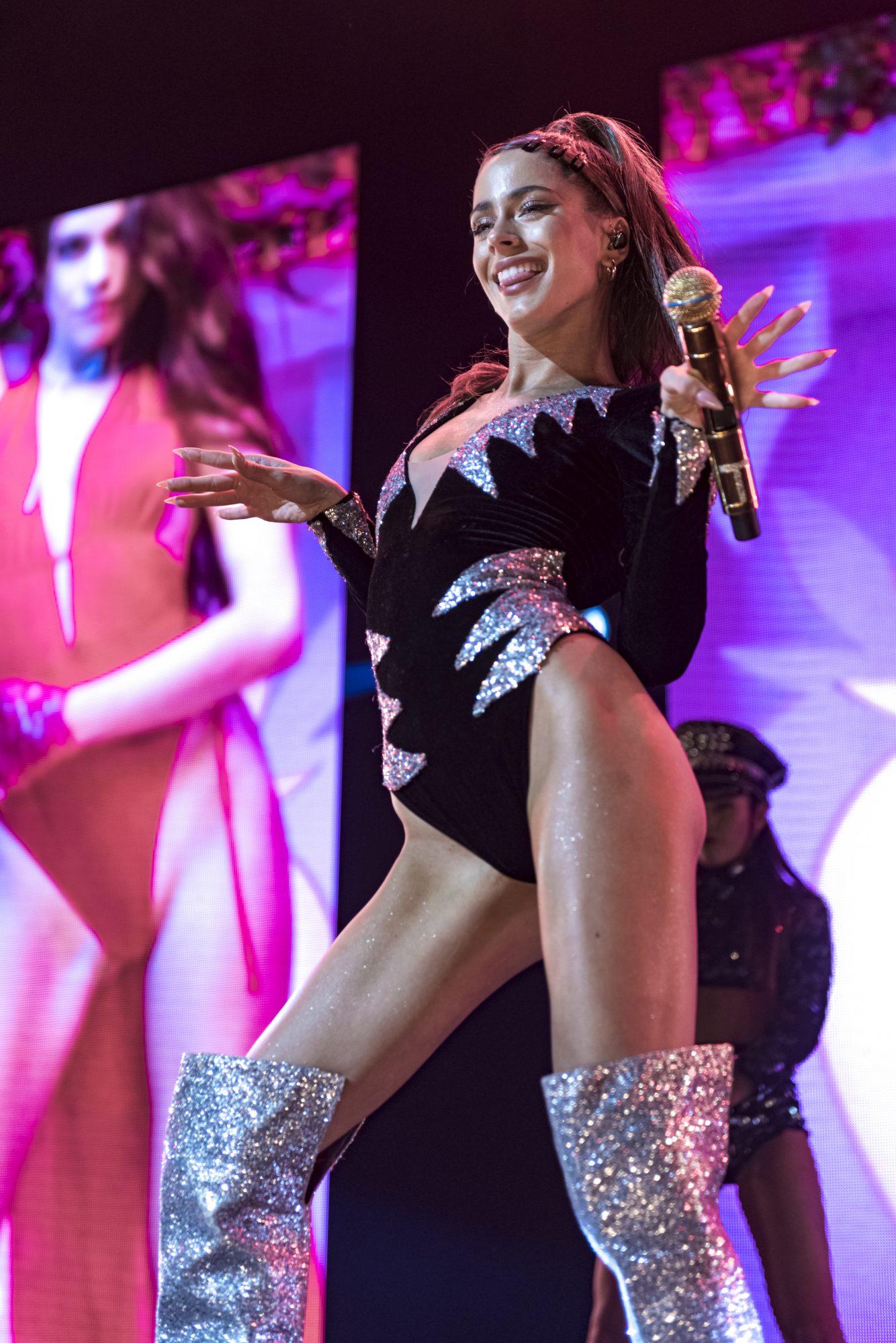 "Tini will perform her latest single, ""Miénteme."""