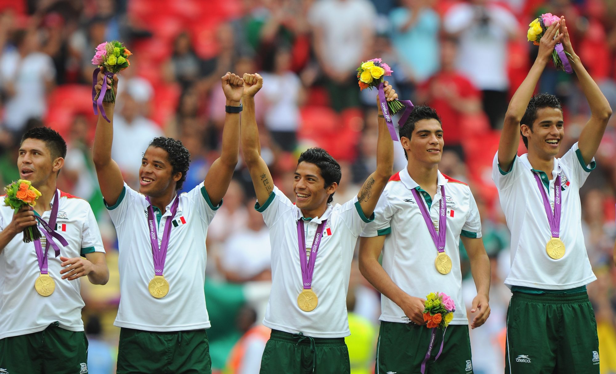 México campeón Olímpico 2012.