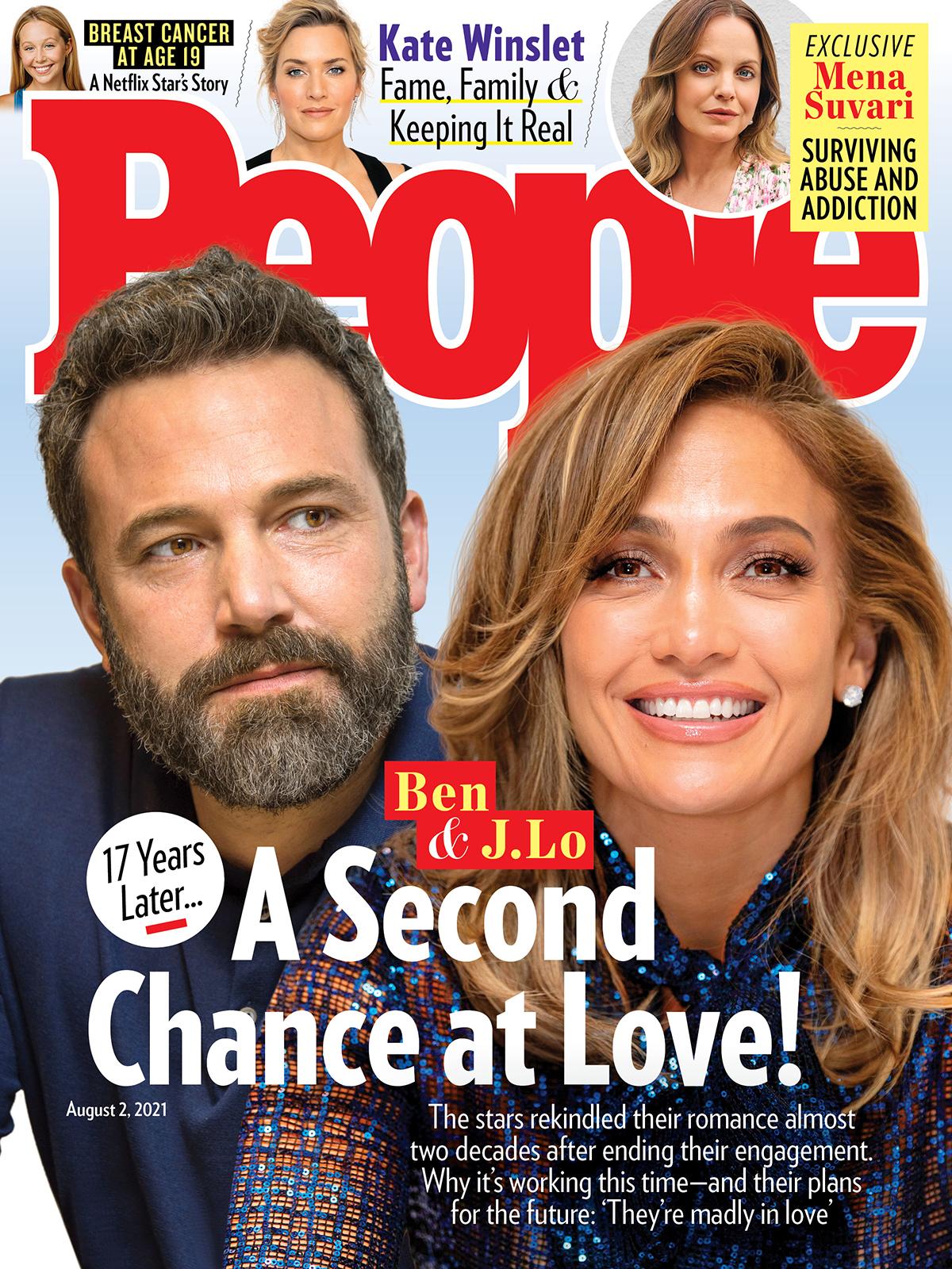 Ben Affleck y Jennifer Lopez - PEOPLE cover