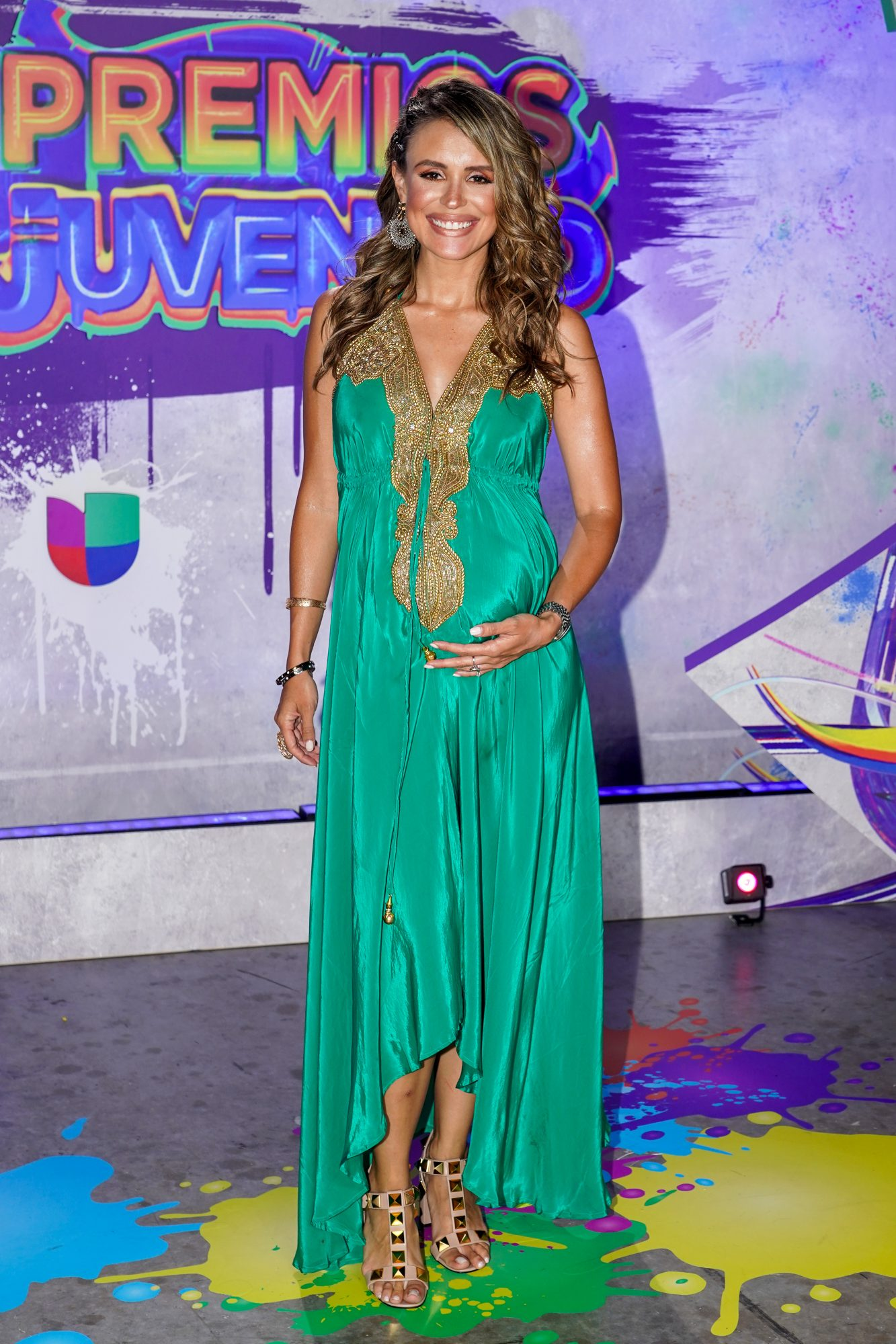Carolina Sarasa en Premios Juventud