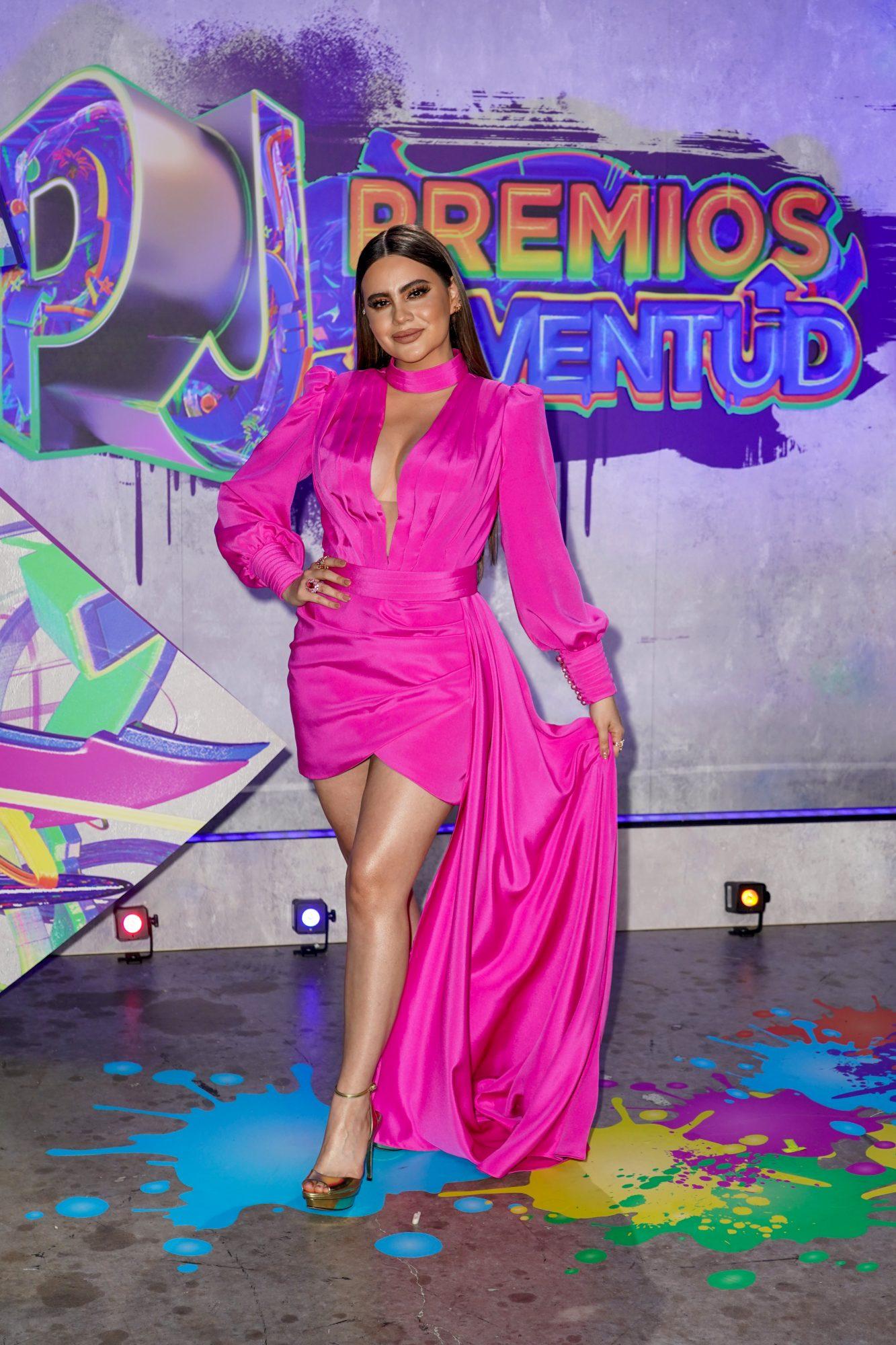Ingrid Contreras en premios juventud