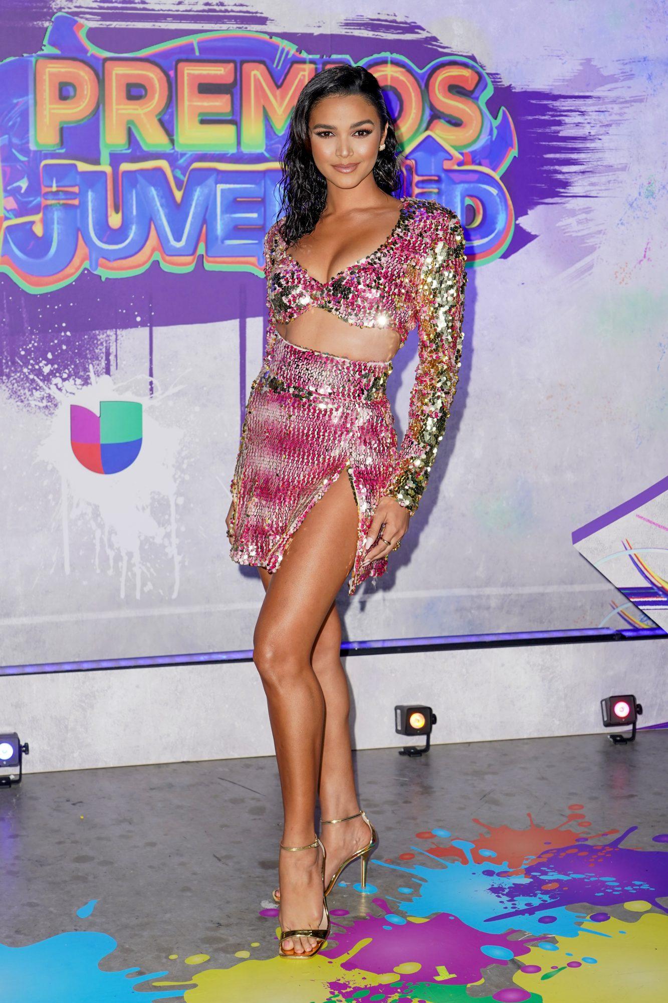 Kiara Liz en premios Juventud