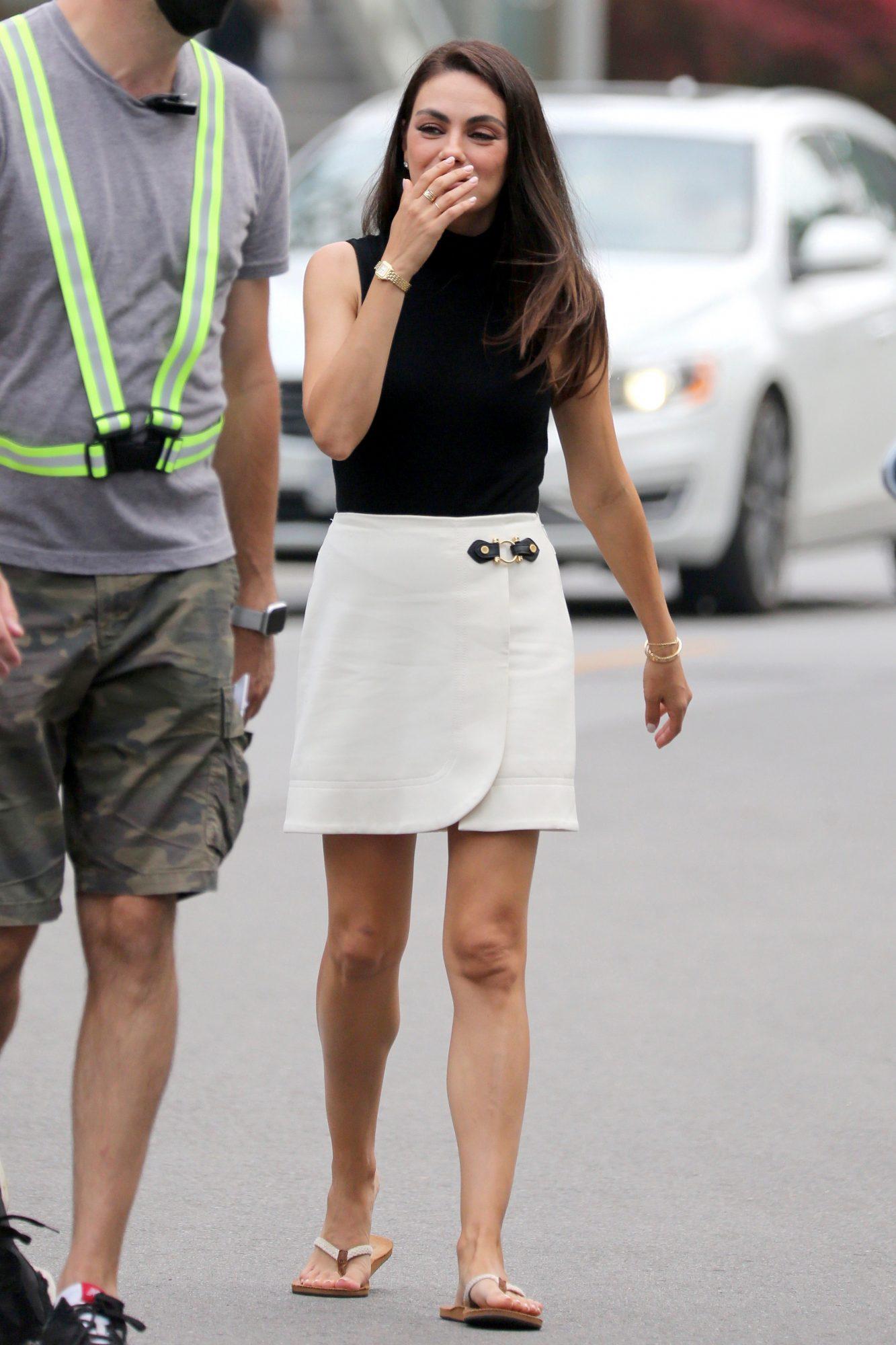 Mila Kunis, look del dia, canada