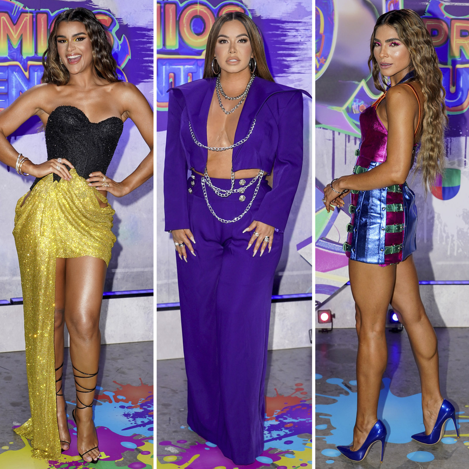 Alejandra Espinoza, Chiquis Rivera, Clarissa Molina, premios juventud