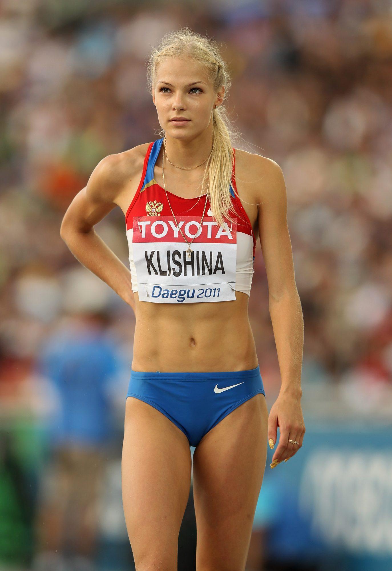 Una medalla olímpica es el gran objetivo de esta bella atleta rusa que se especializa en la modalidad de salto largo. Ha logrado subirse al podio en competiciones europeas y mundiales, por ello es una de las deportistas a seguir en su modalidad.