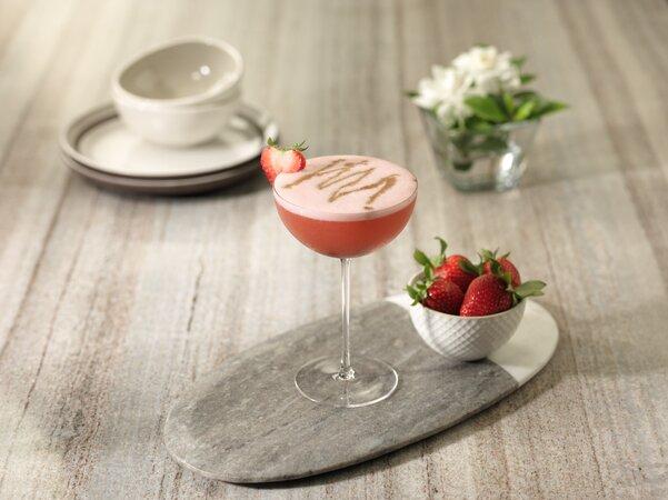 Strawberry Fields con tequila