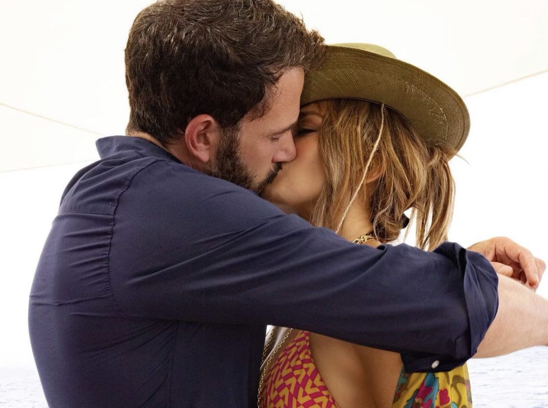 Jennifer Lopez Ben Affleck beso