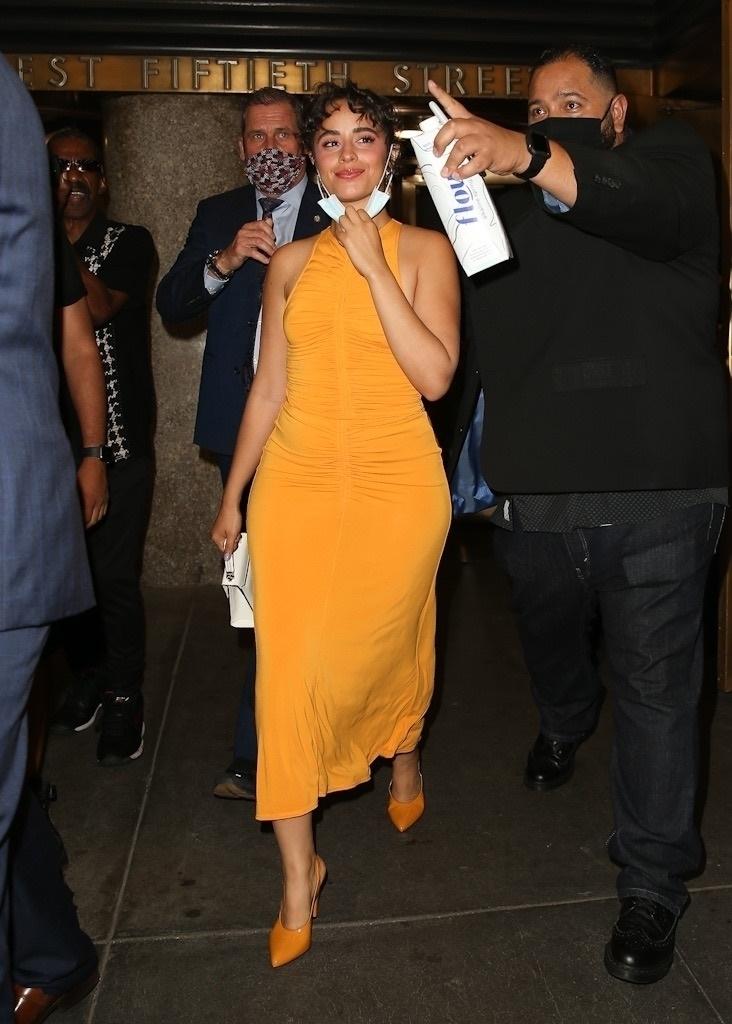 Camila Cabello, vestido amarillo, New York