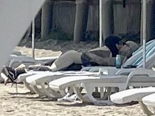 Kourtney Kardashian & Travis Barker Kissing During Getaway at Five Star Resort in Santa Barbara