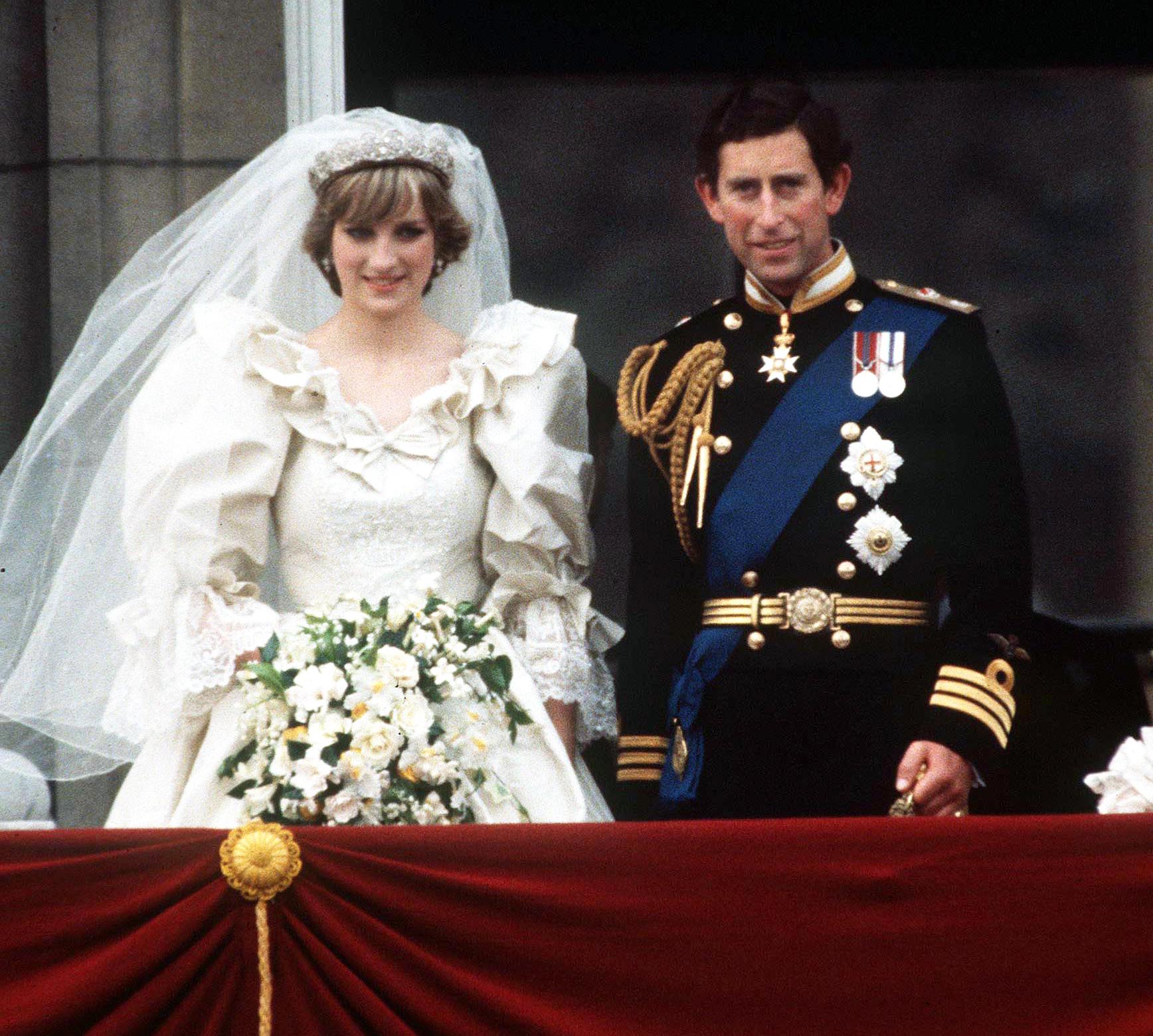 Prince Charles And Princess Diana Wedding