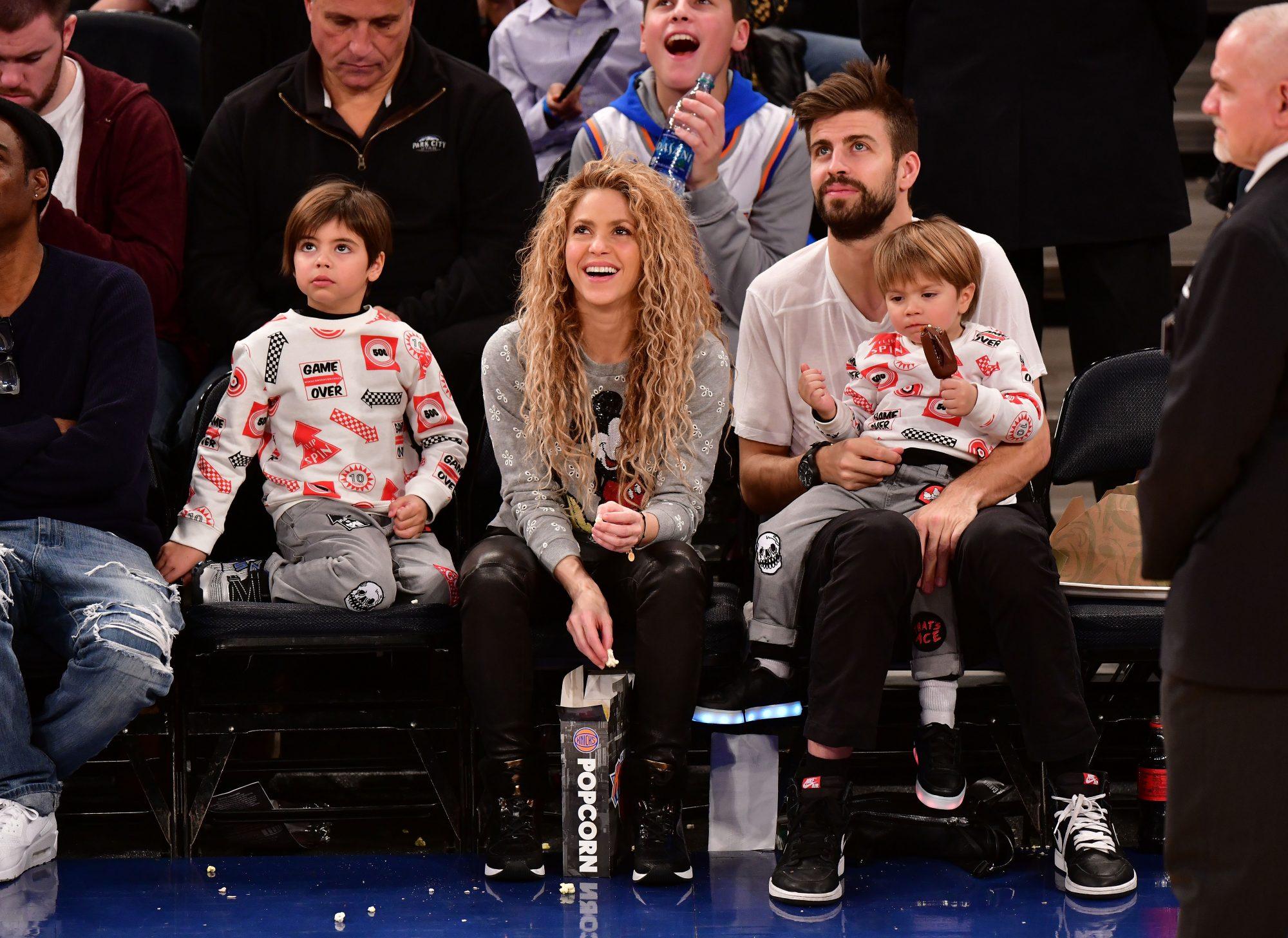 Shakira y familia