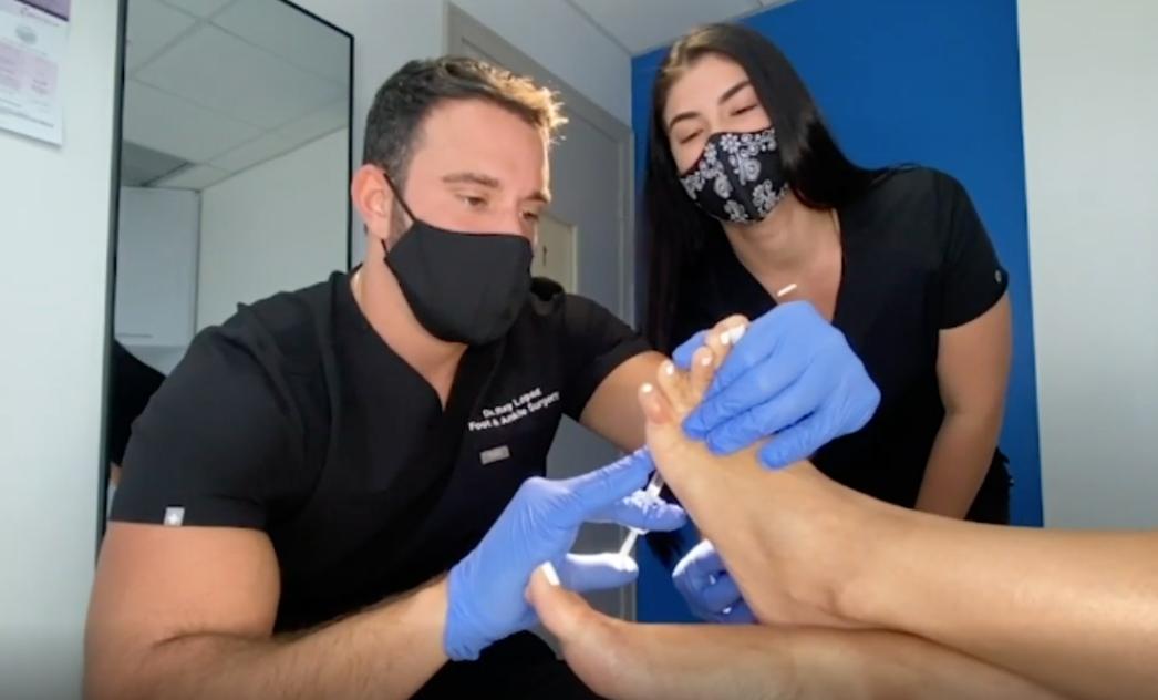 tratamiento para planta de los pies