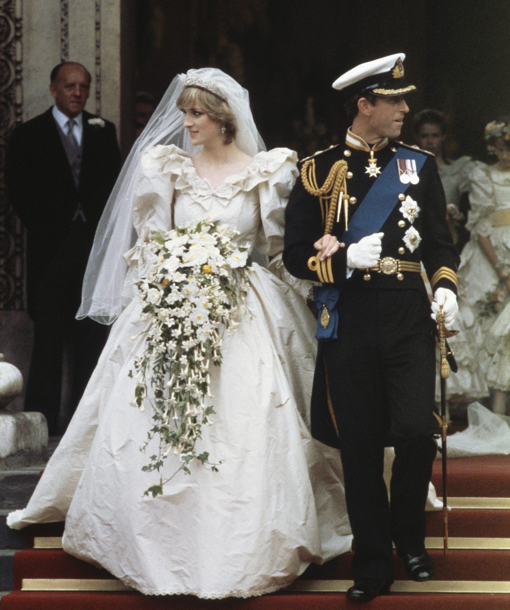 Royal Wedding Of Prince Charles And Diana Spencer