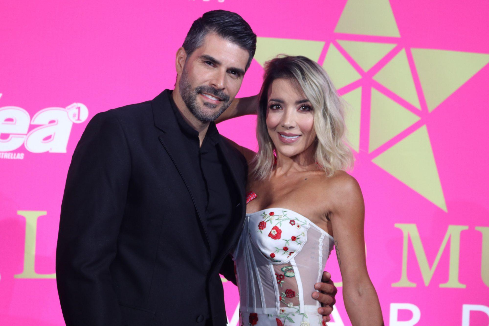 Juan Pablo Llano y Catalina Gomez Dijeron presente en el evento de nominación de los premios Latino Show en Miami