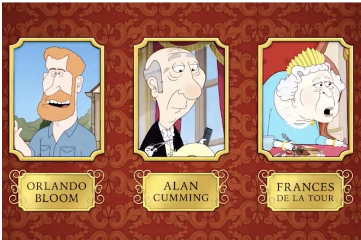 Voces de la serie animada The Prince, por HBO Max
