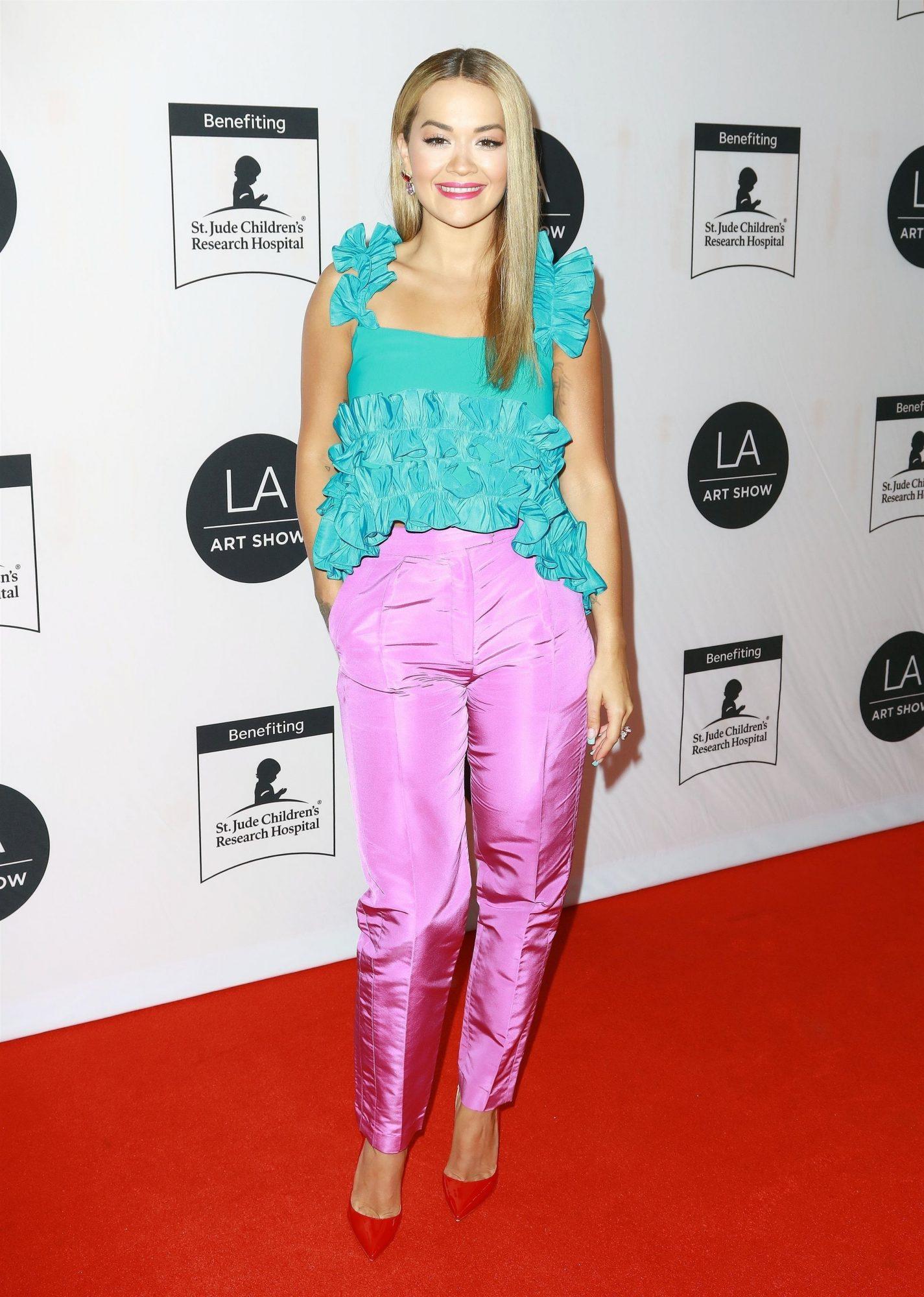 Rita Ora, look del dia