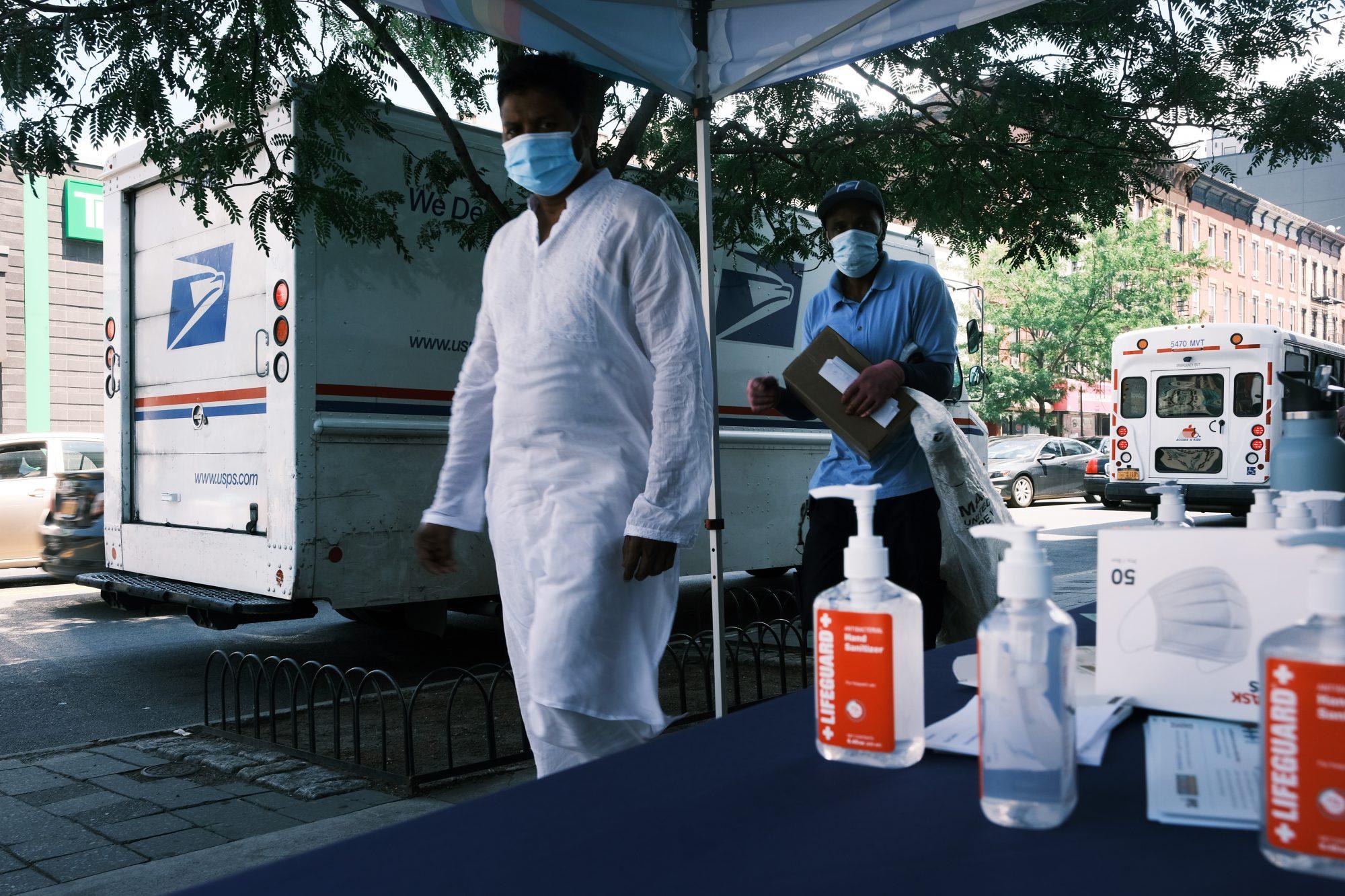Vacunación en New York