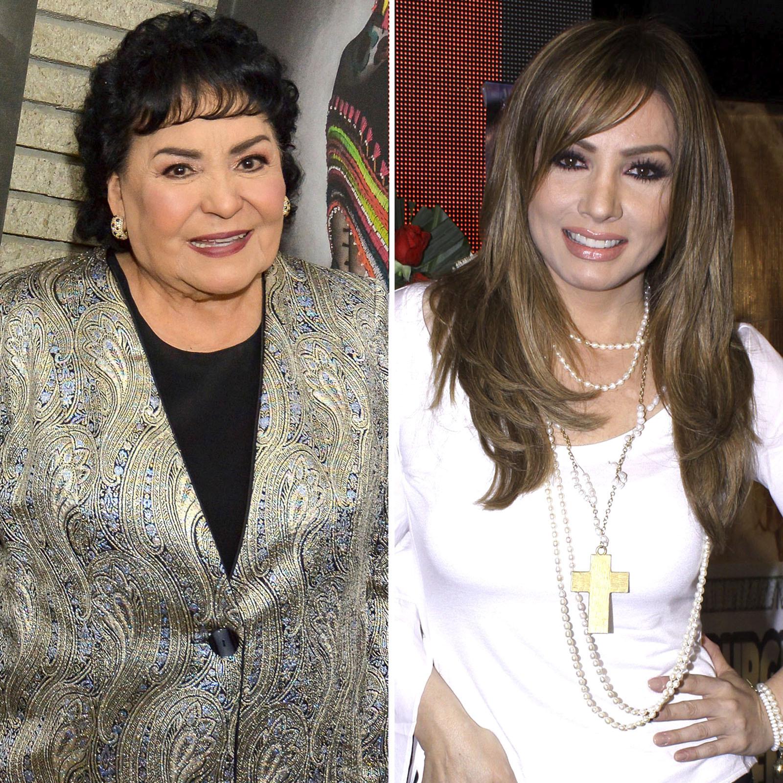 Carmen Salinas y Paty Navidad