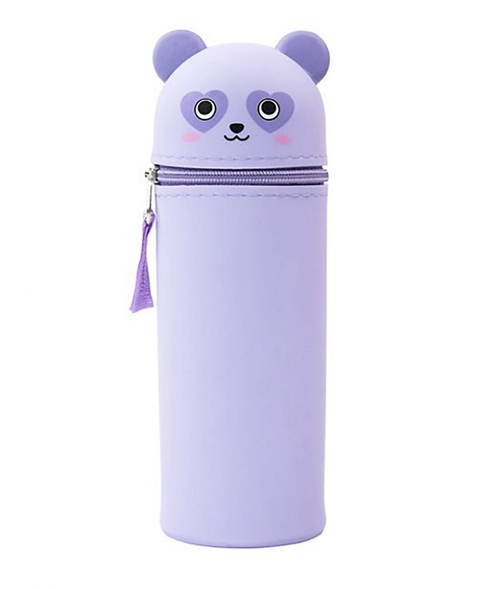 Las cartucheras le ayudarán a tus chicos a mantener en orden todos sus utensilios escolares. ¿Qué tal esta linda opción con carita de panda?                             Precio: $9.99