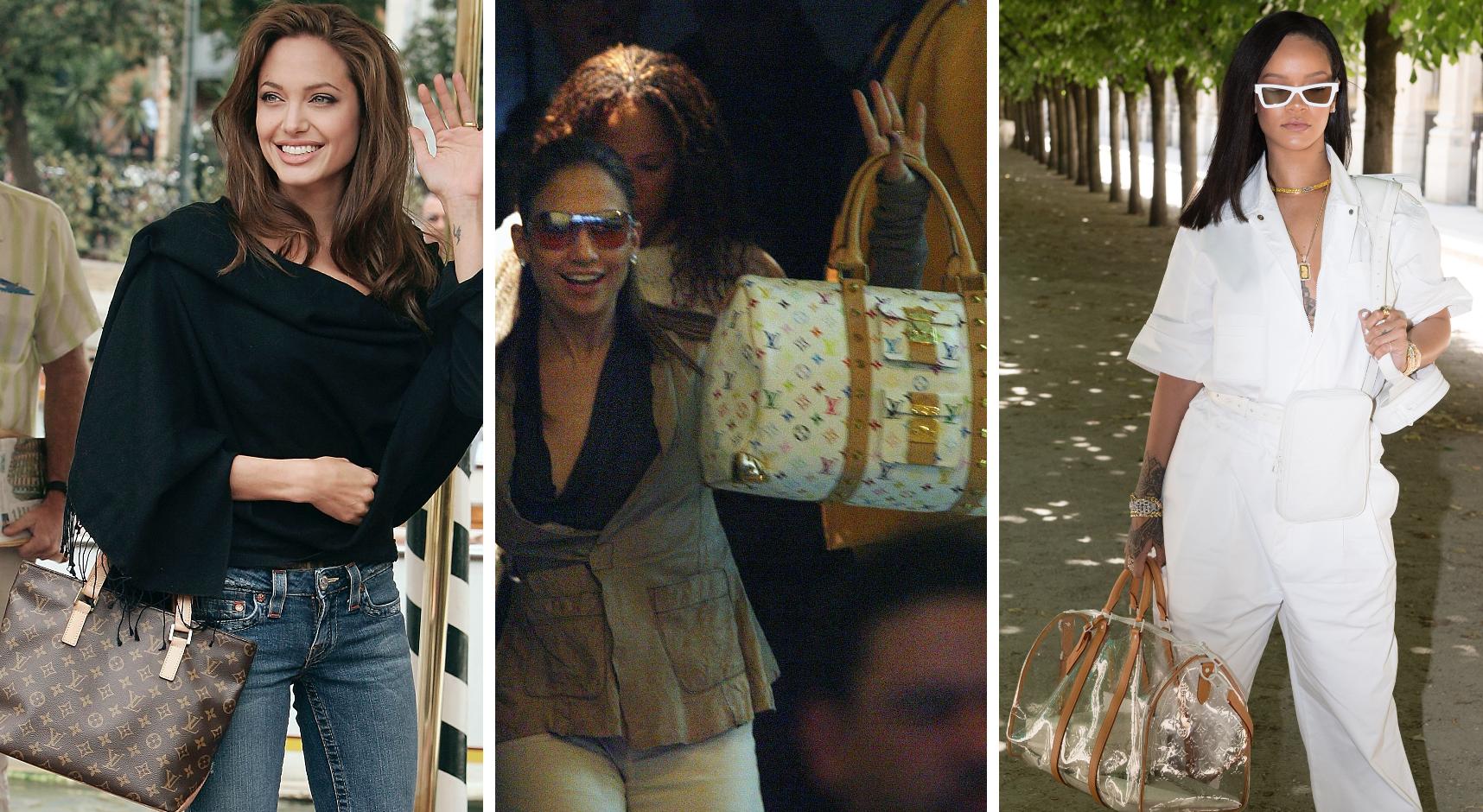 Louis Vuitton, Angelina Jolie, Jennifer Lopez, JLo, Rihanna