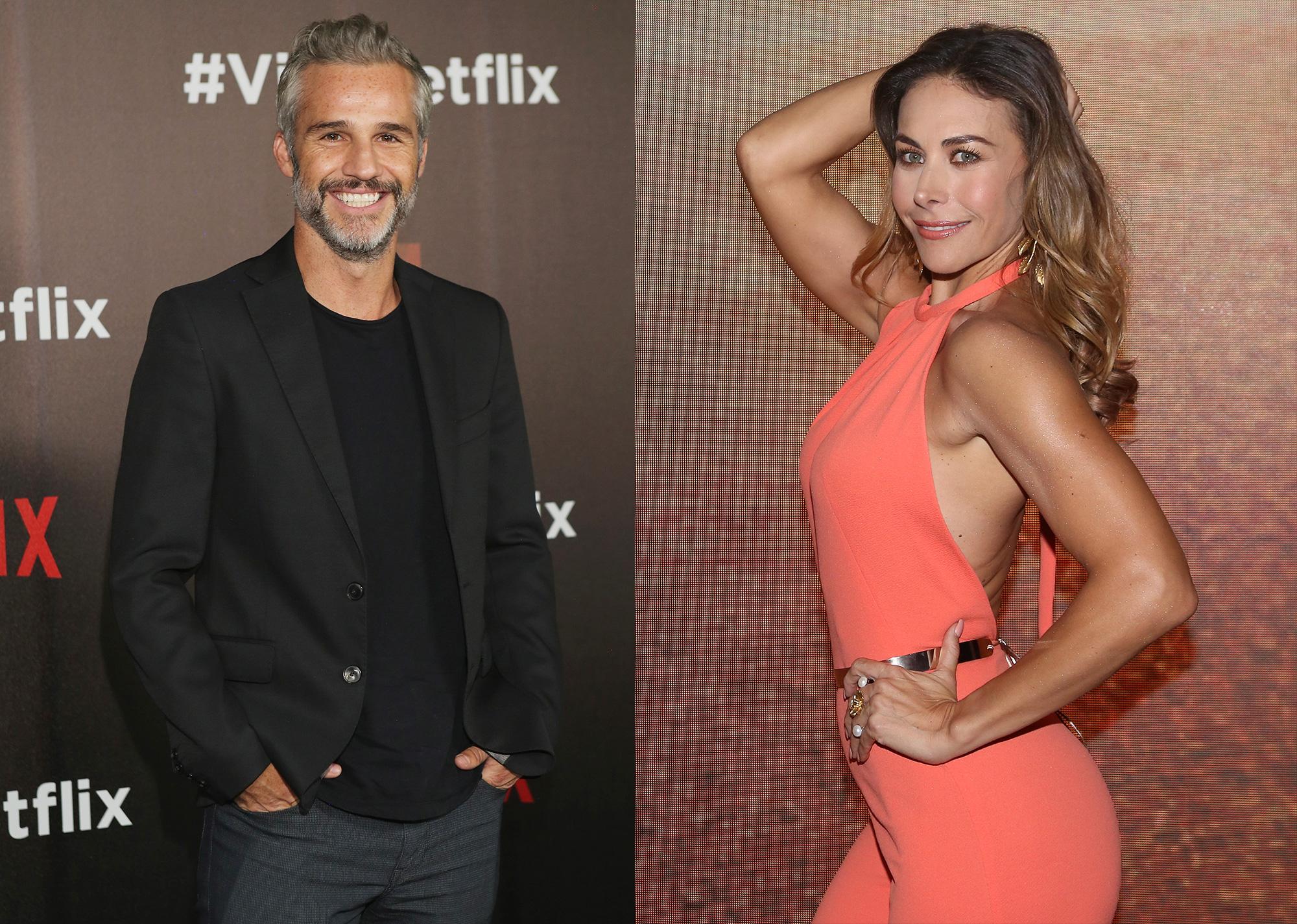 Juan Pablo Medina y Vanessa Guzmán
