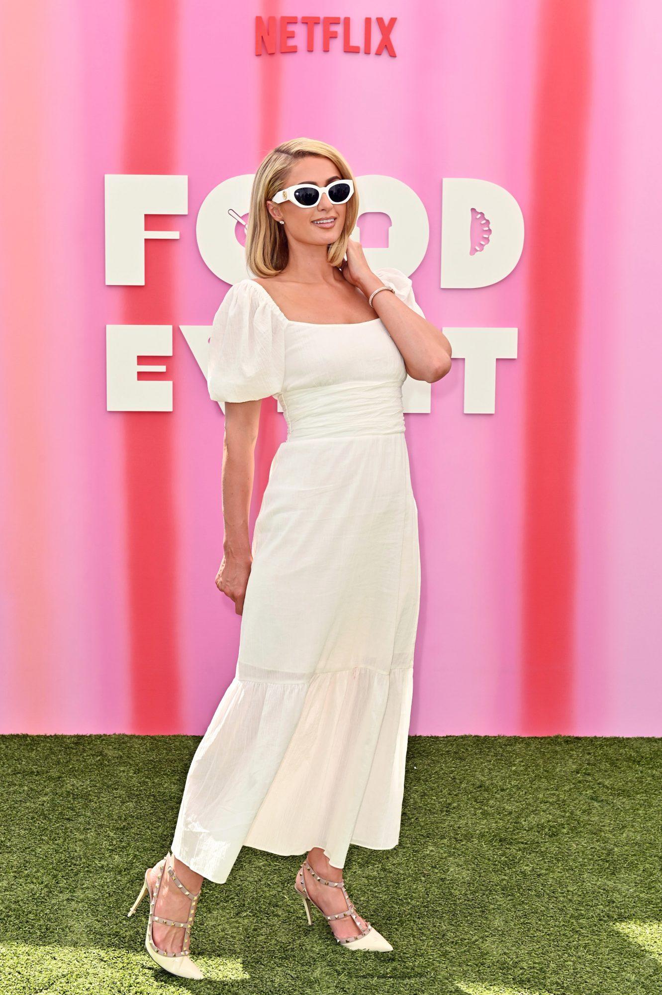 Paris Hilton, look del dia
