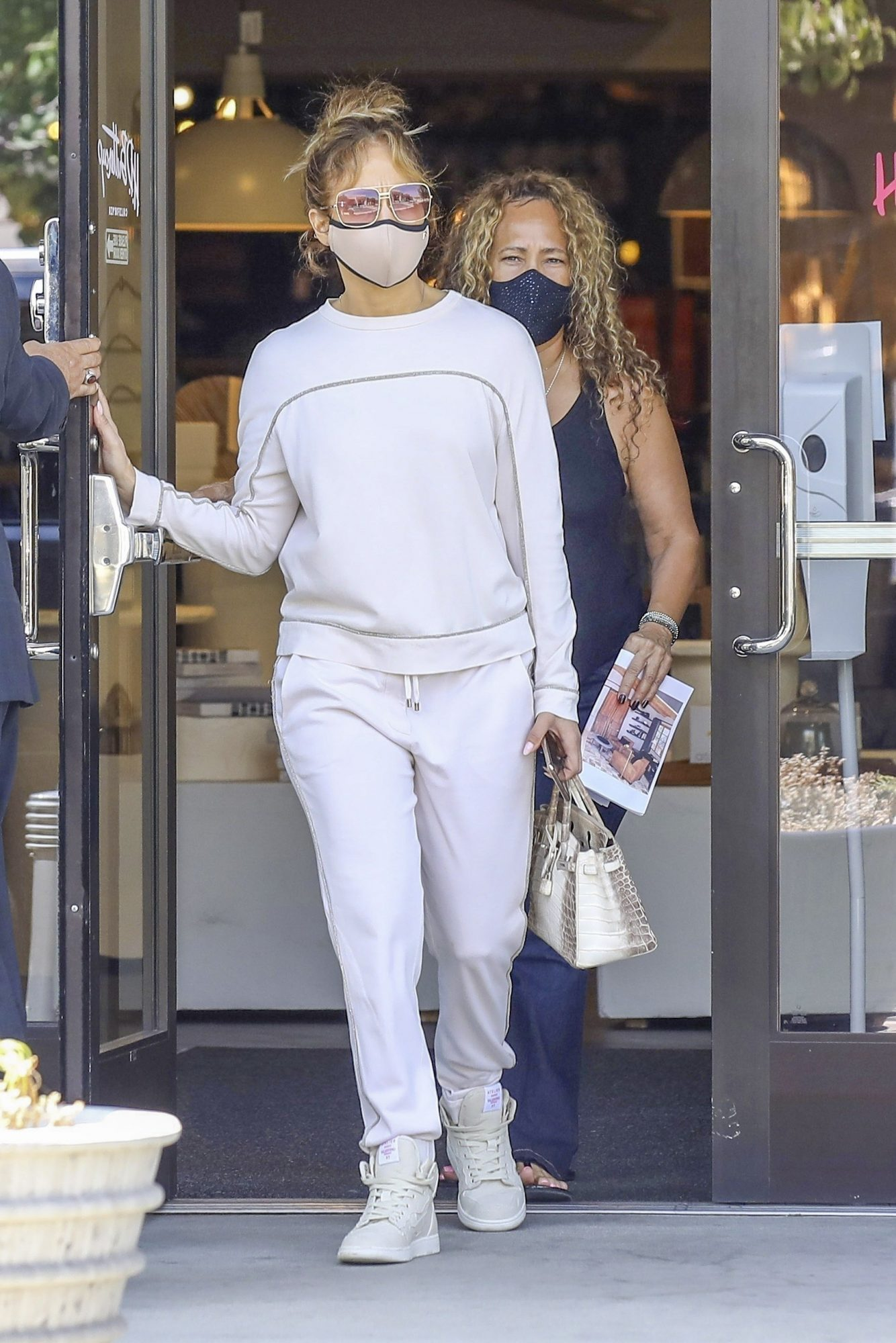 Jennifer Lopez Shops for New Furniture at HD Buttercup Store in LA