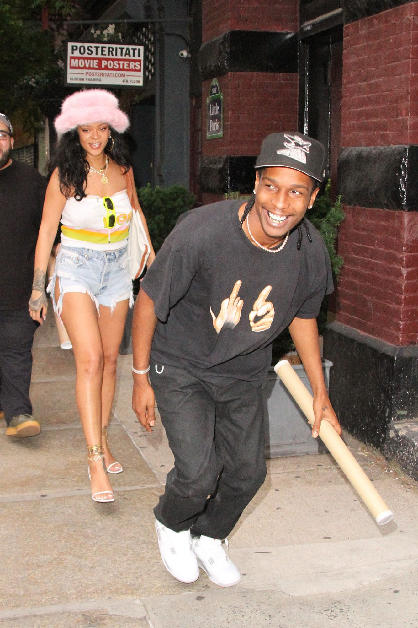 Rihanna Celebrates her Billion Dollar Day with ASAP Rocky in NYC