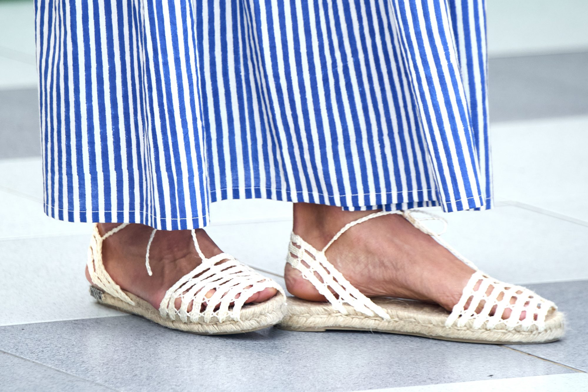 Alpargatas, zapatos, reina letizia