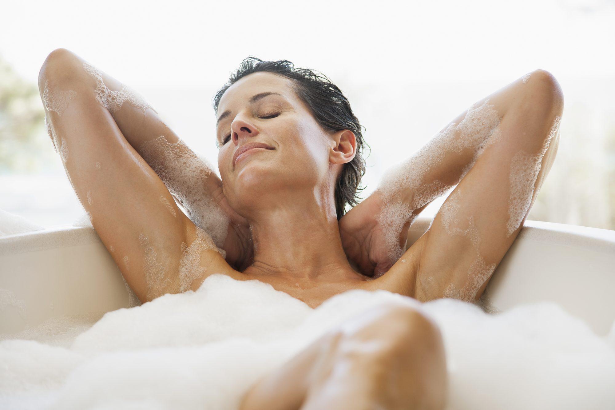 el día nacional de la relajación, baño, spa