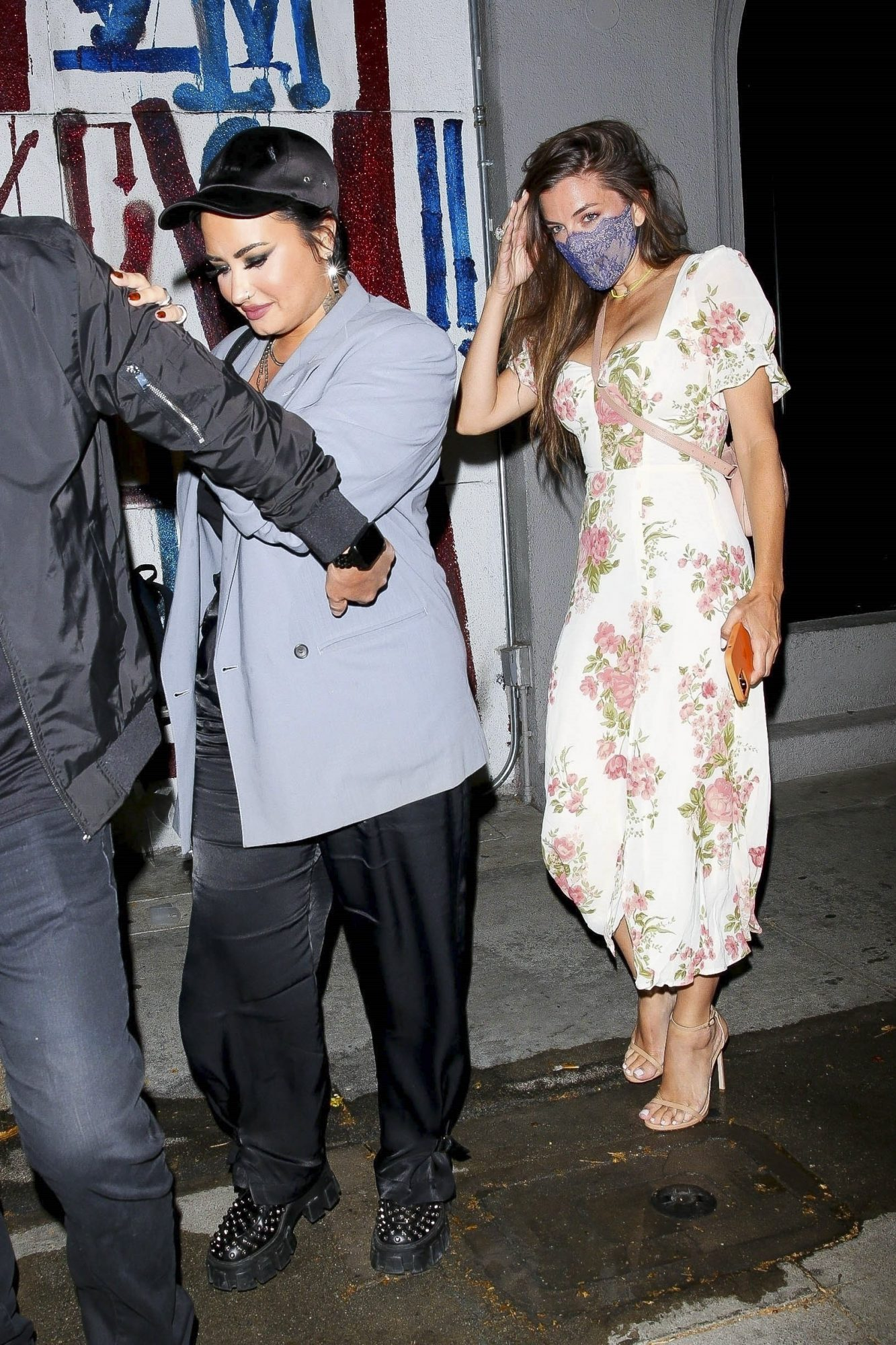 Demi Lovato Steps Out with a Mystery Woman at Craig's