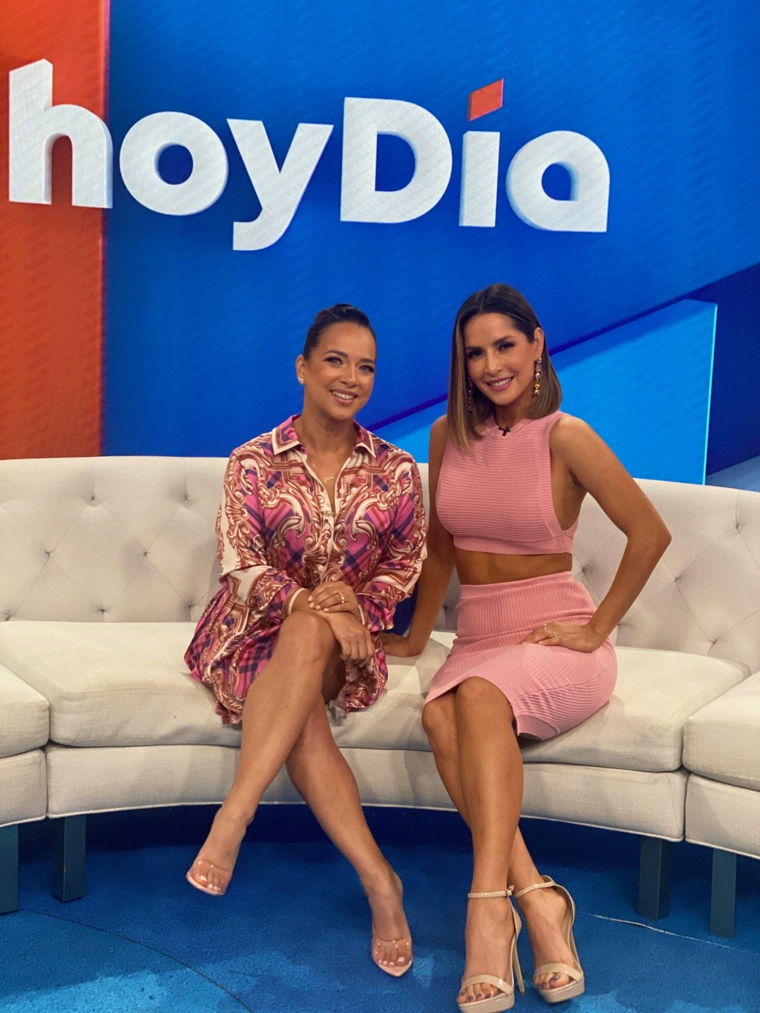 Adamari Lopez y Carmen Villalobos