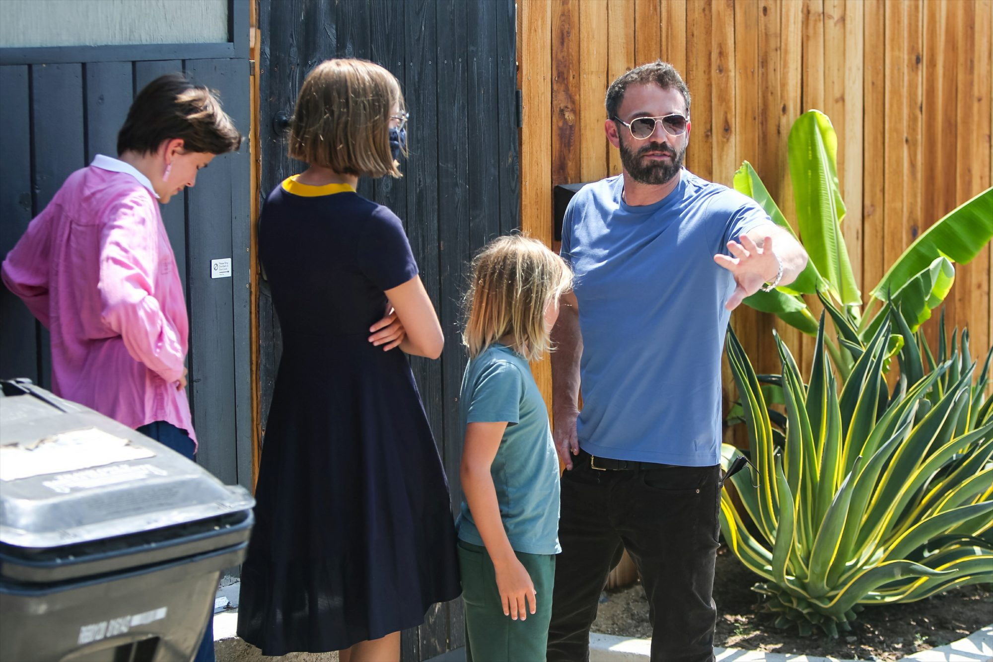 Ben Affleck Is Happy To Be With His Children On His 49th Birthday