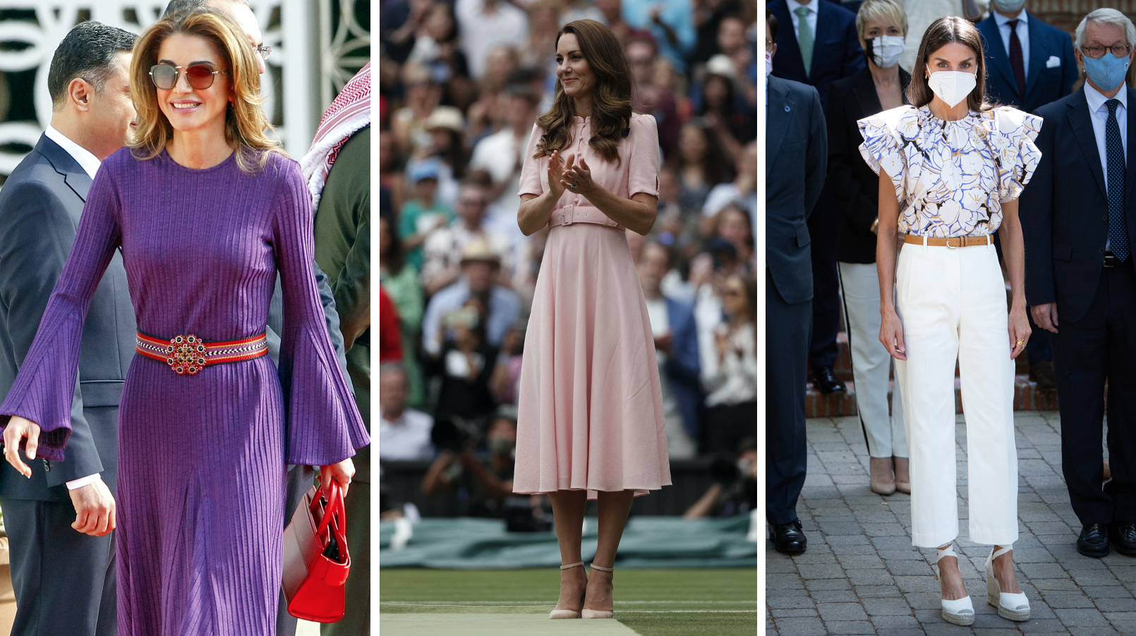 Reina Rania, Kate Middleton, Reina Letizia