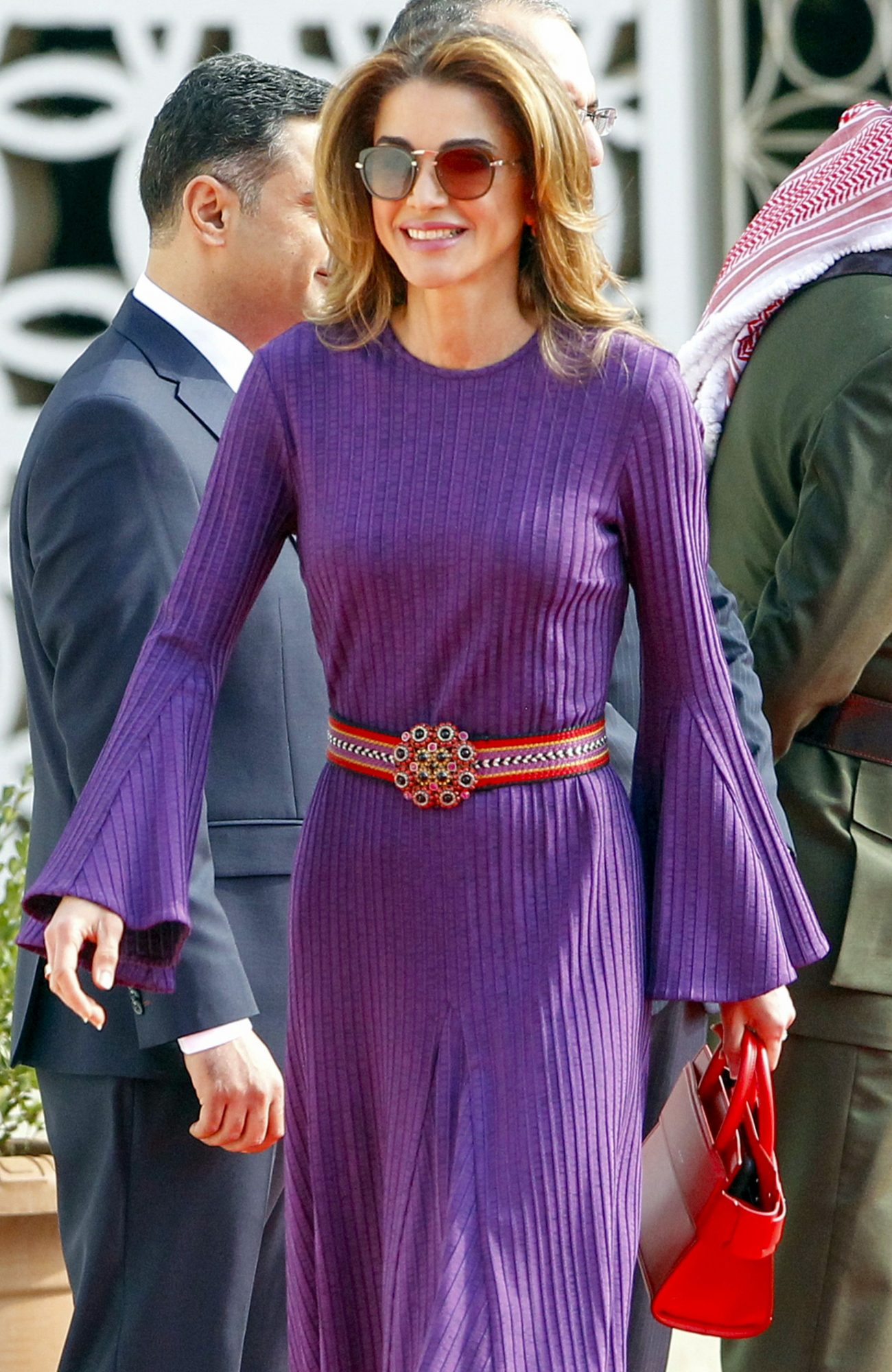 Reina Rania, Jordania