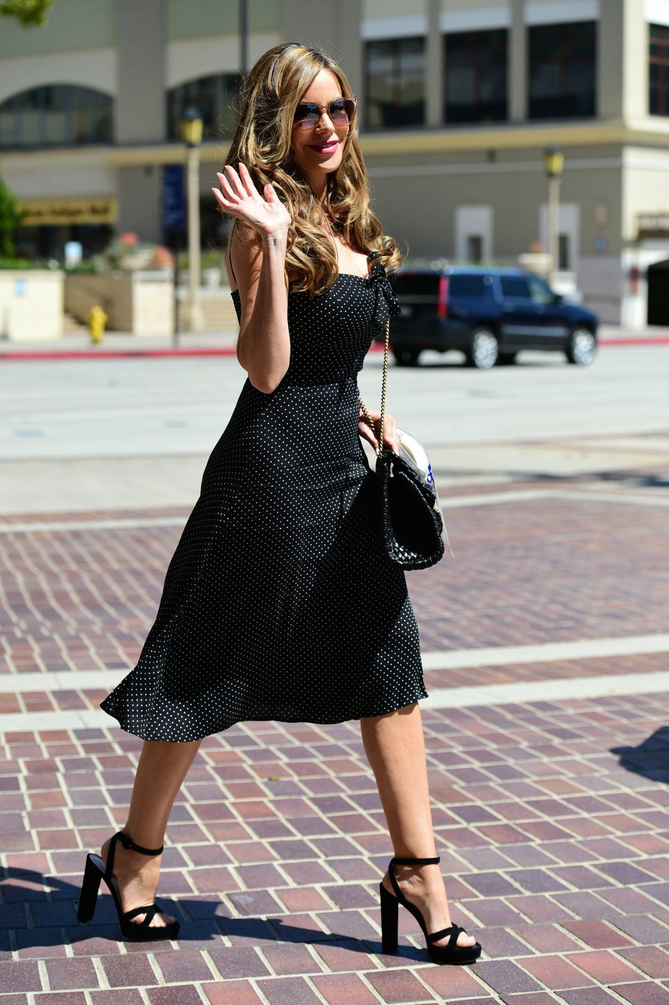 Sofia Vergara, moda, street style