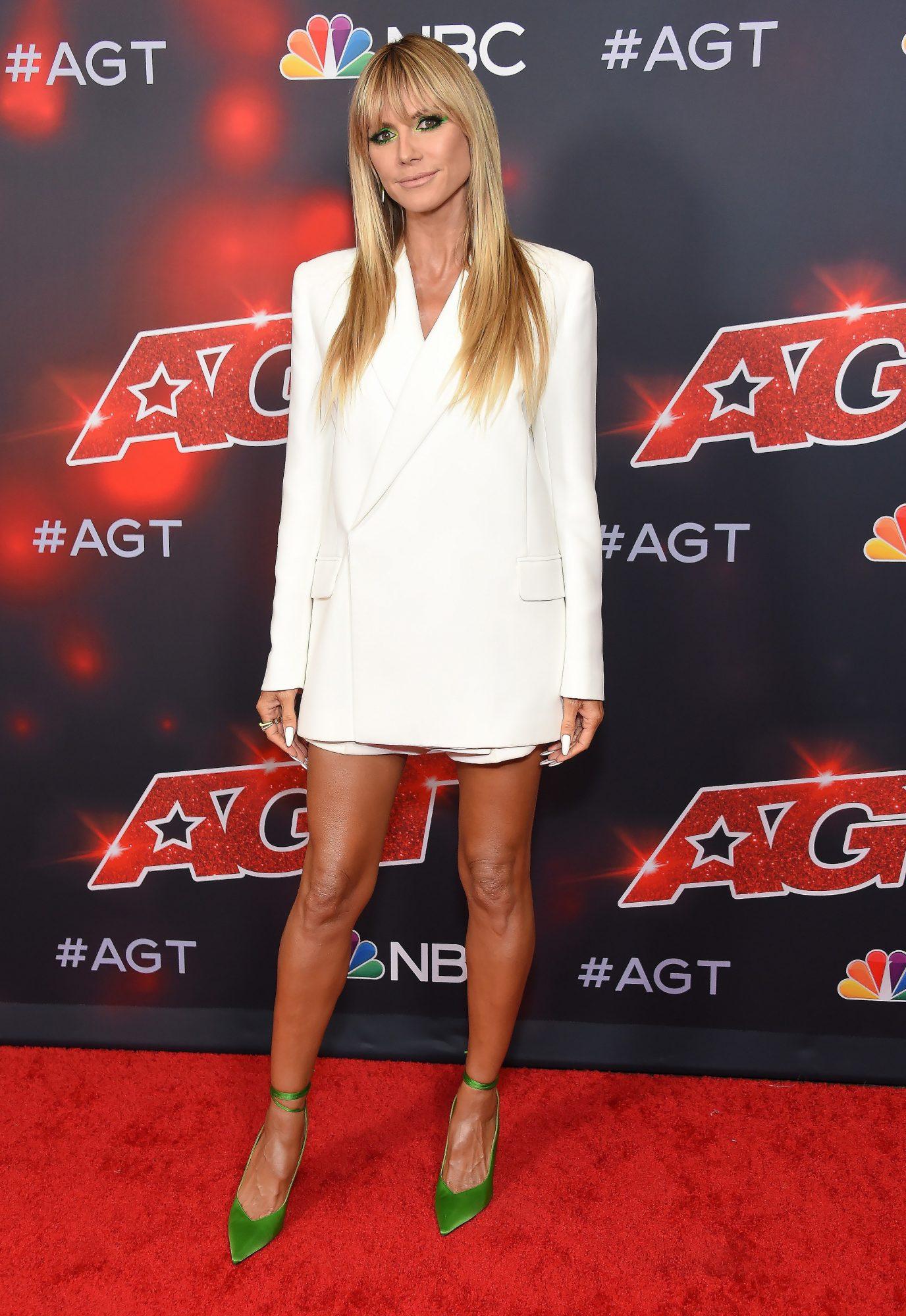 Heidi Klum, look del dia