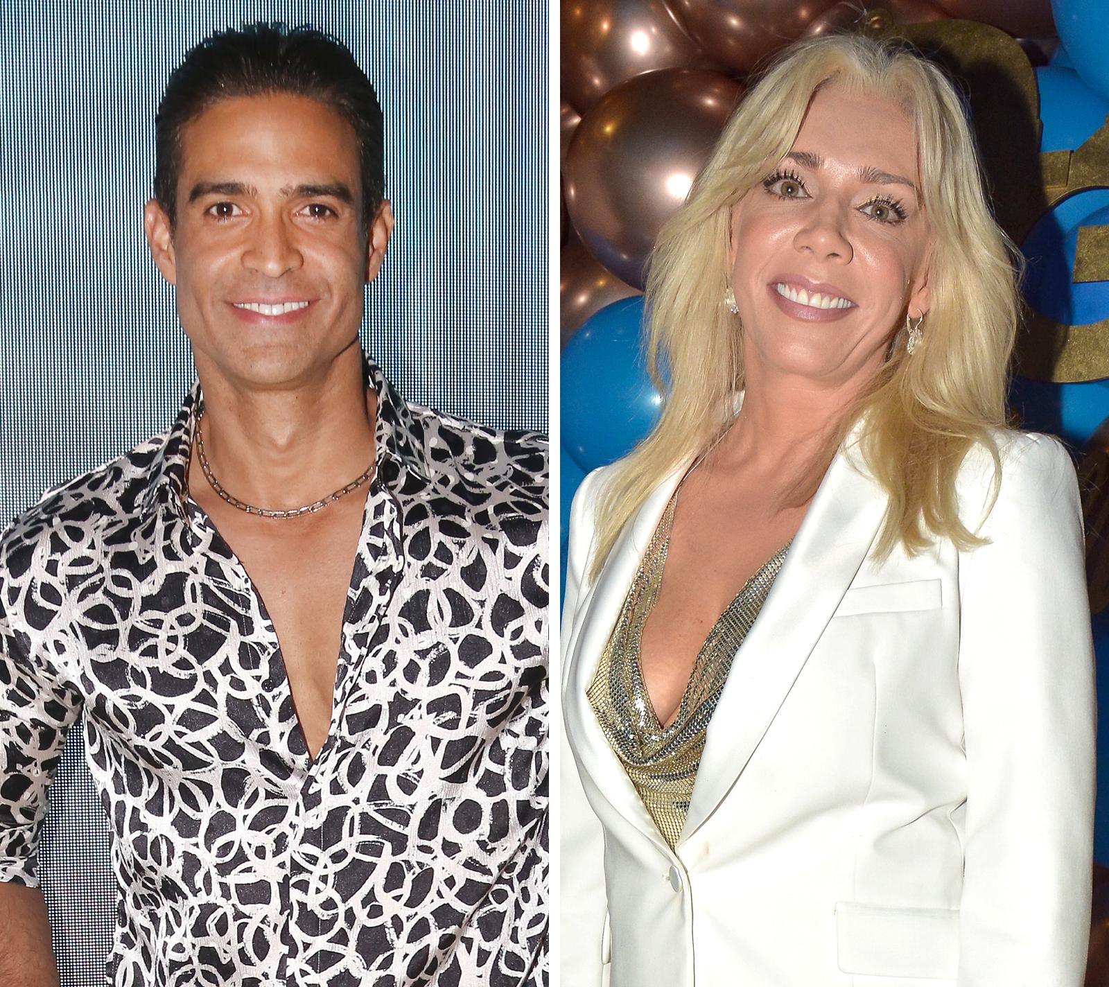 Juan Vidal y Cynthia Klitbo