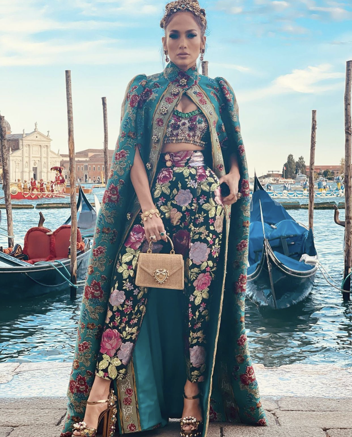 Jennifer López Venecia Dolce Gabanna