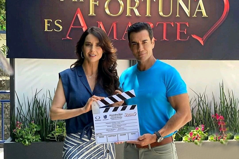 "David Zepeda y Susana González protagonizan la telenovela ""Mi Fortuna Es Amarte"""