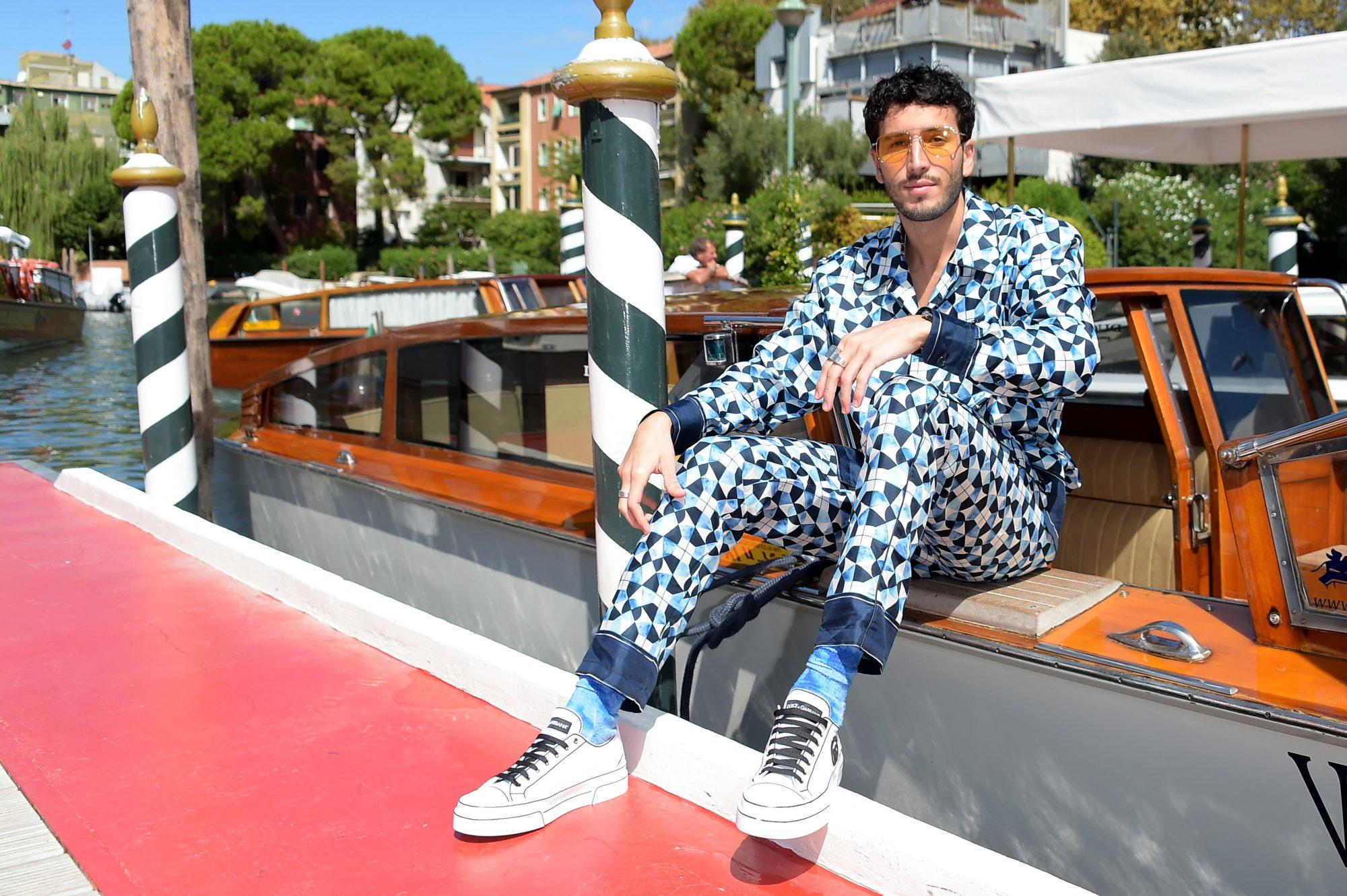 Sebastian Yatra Arriving At The Dolce & Gabbana Event In Venice