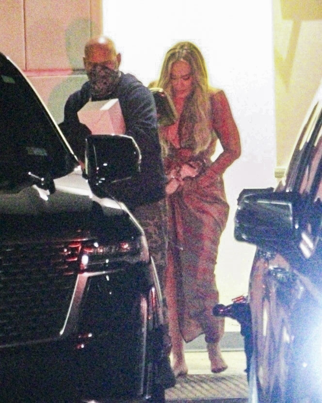 Adele & Rich Paul Keep a Low Profile While Leaving Lebron James' wife Birthday Celebration