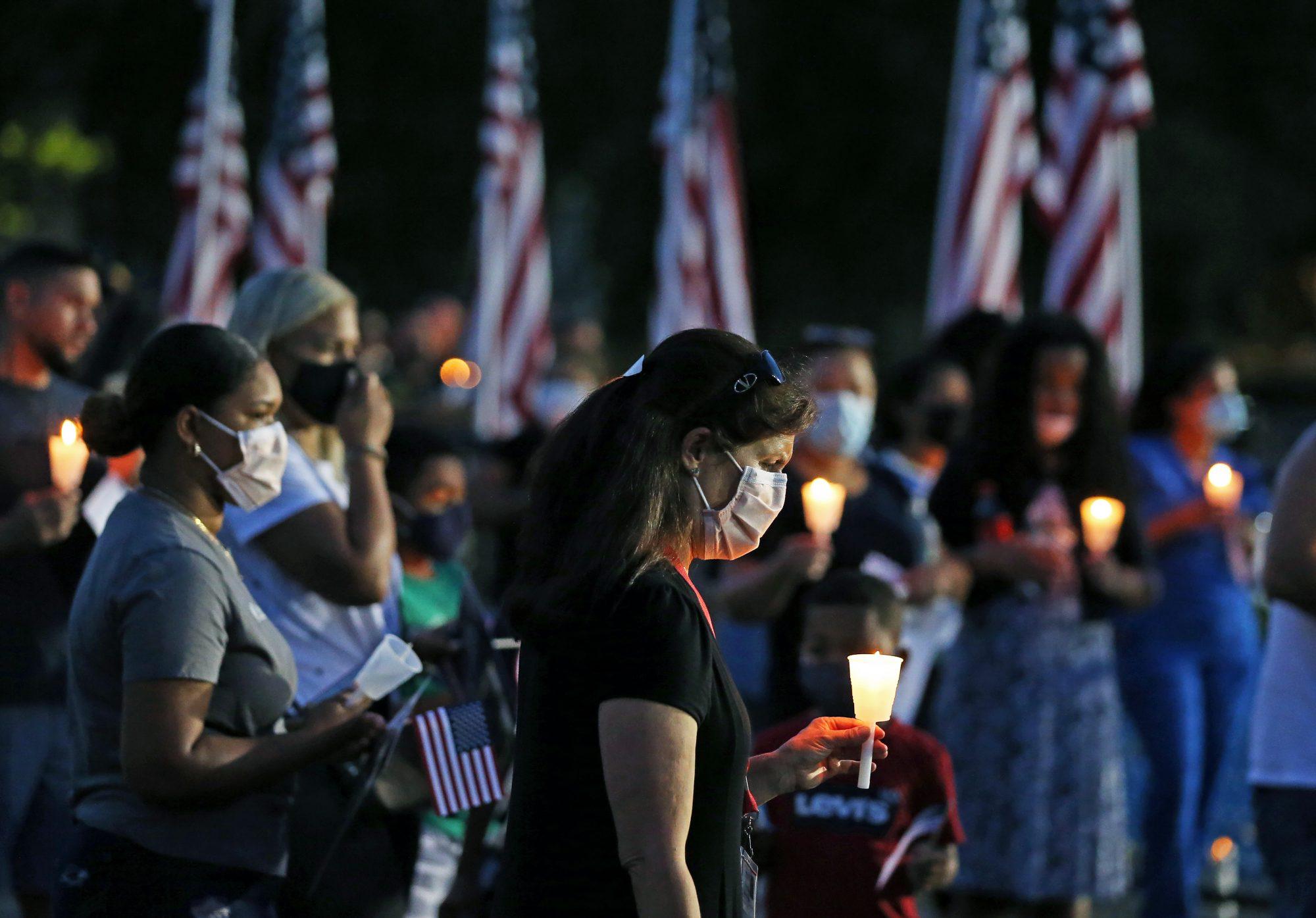Vigil for Afghan Victims