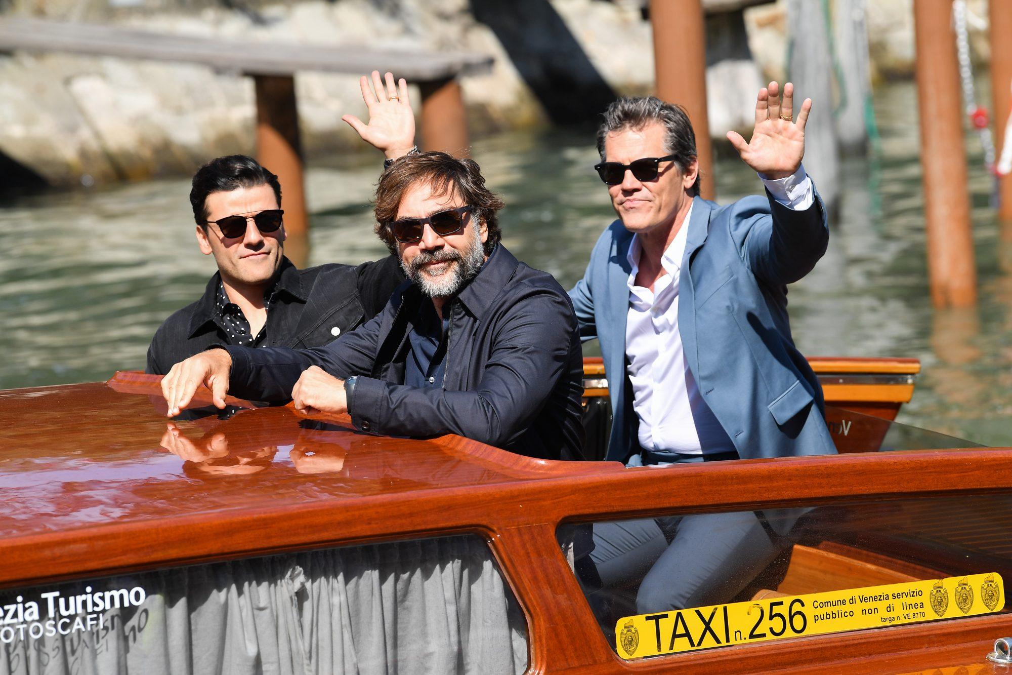 Oscar Isaac Javier Bardem Josh Brolin The 78th Venice International Film Festival