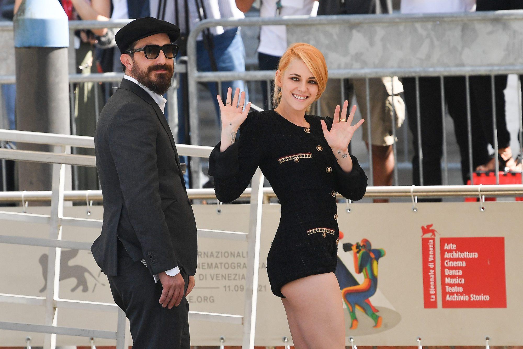 Juan Pablo Larráin y Kristen Stewart